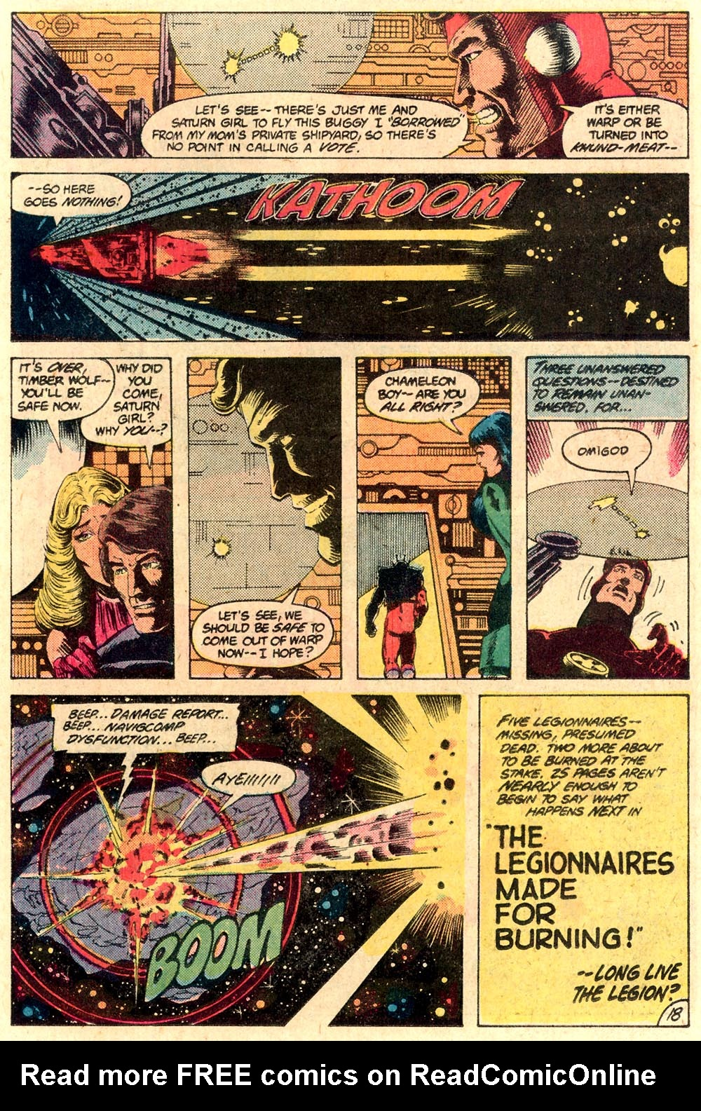 Legion of Super-Heroes (1980) 287 Page 18