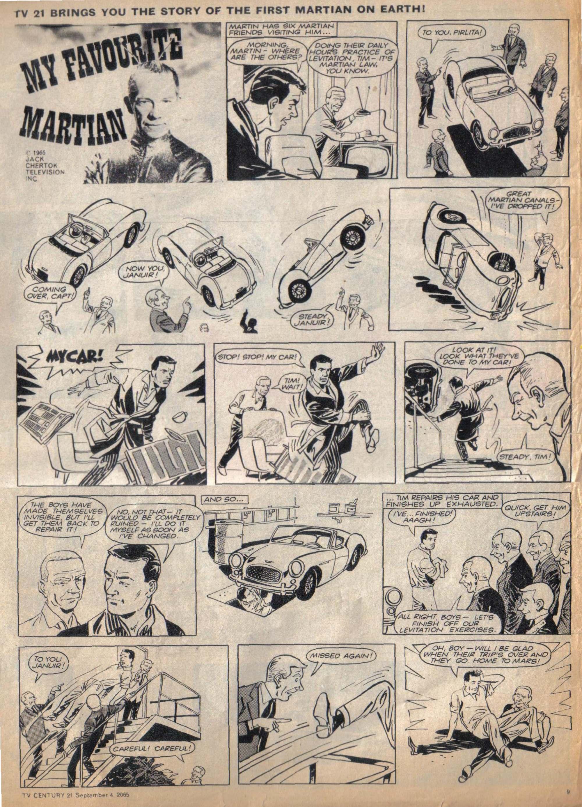 Read online TV Century 21 (TV 21) comic -  Issue #33 - 9