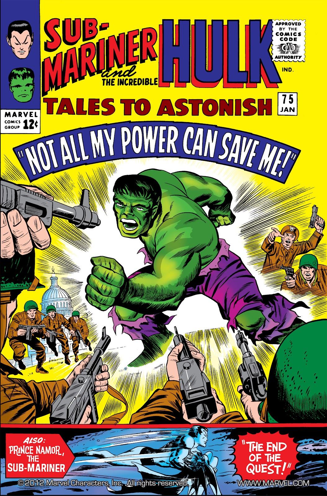 Read online Marvel Masterworks: The Incredible Hulk comic -  Issue # TPB 2 (Part 2) - 89