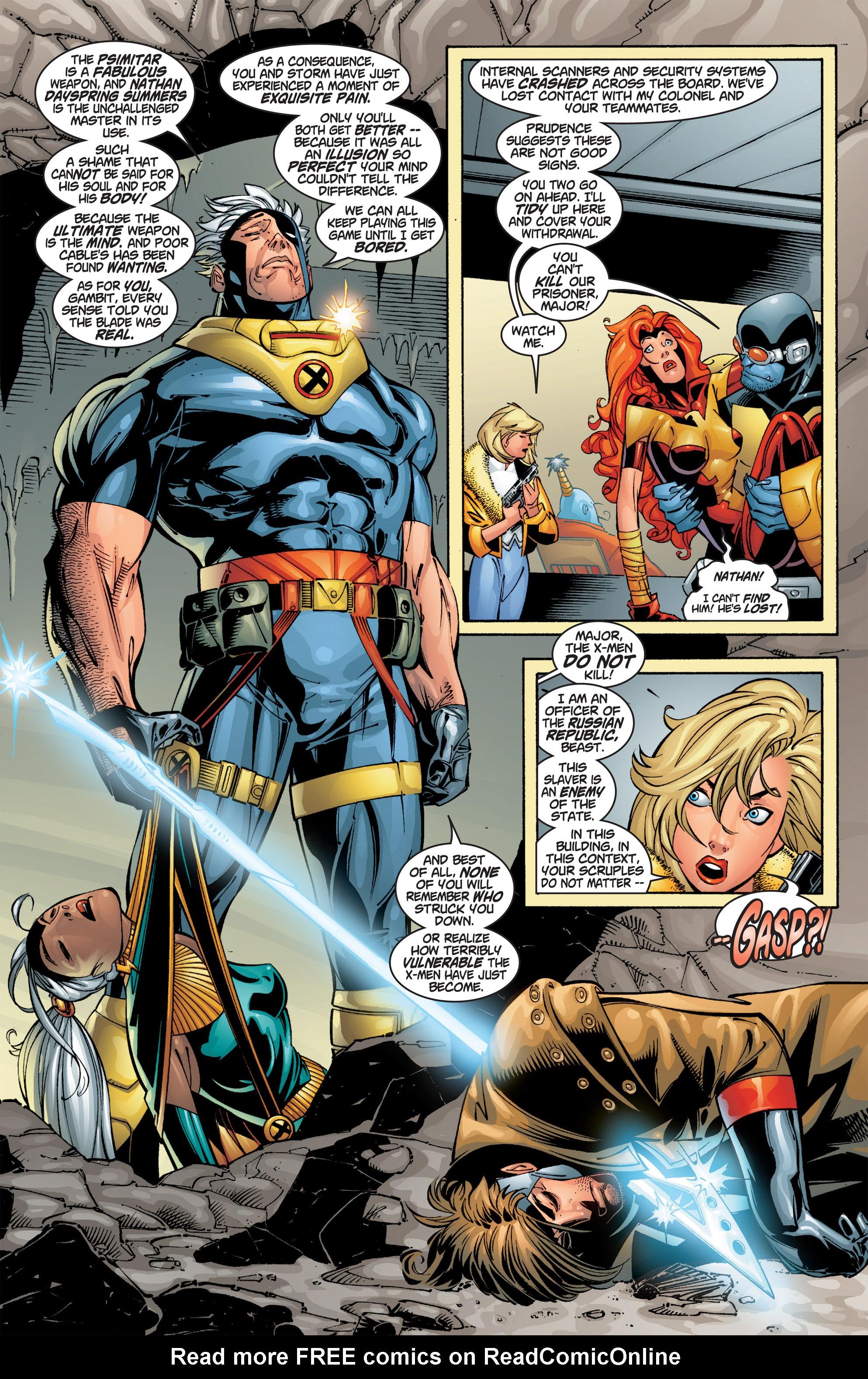 Read online Uncanny X-Men (1963) comic -  Issue #384 - 17