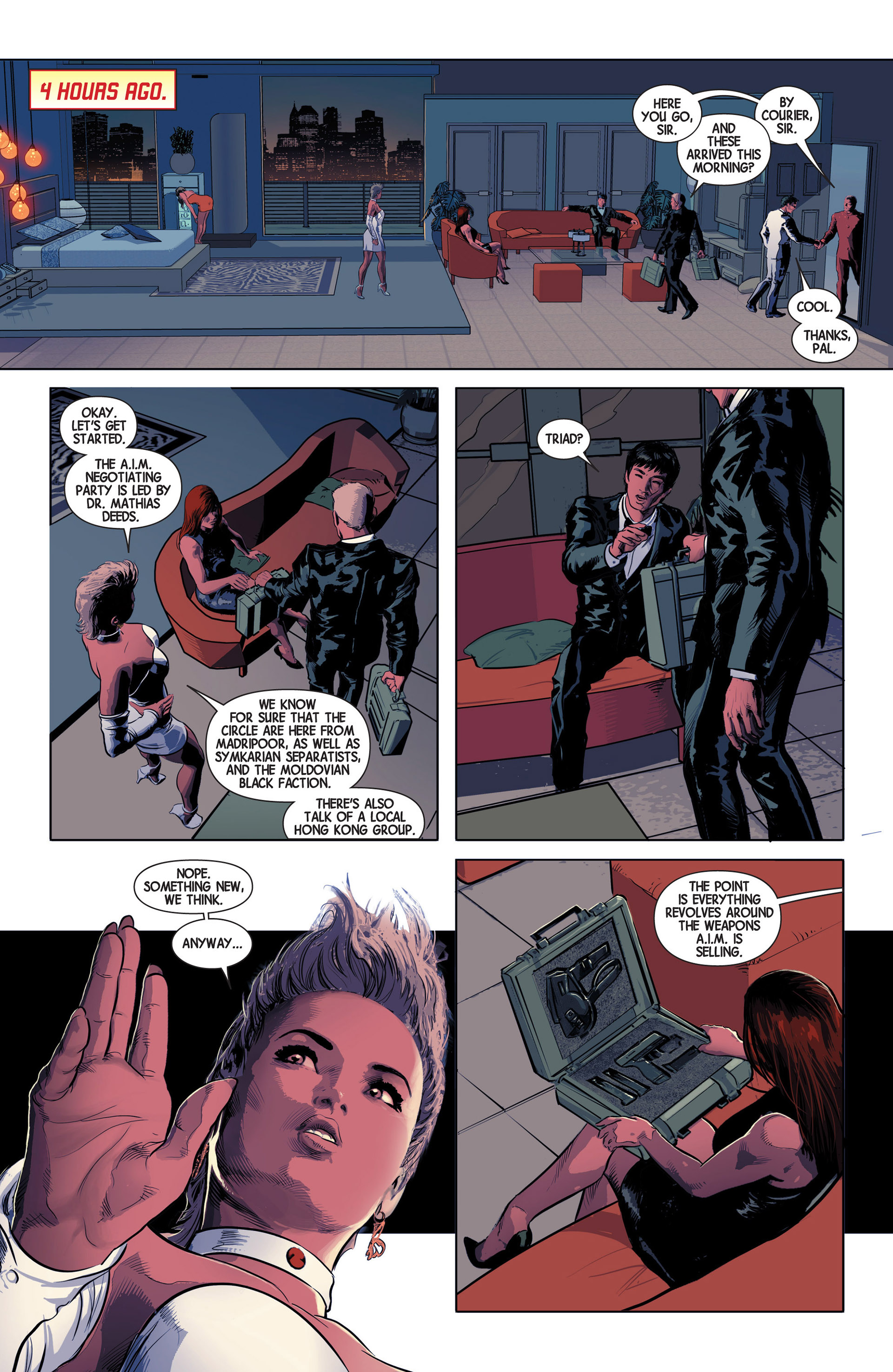 Read online Avengers (2013) comic -  Issue #11 - 10