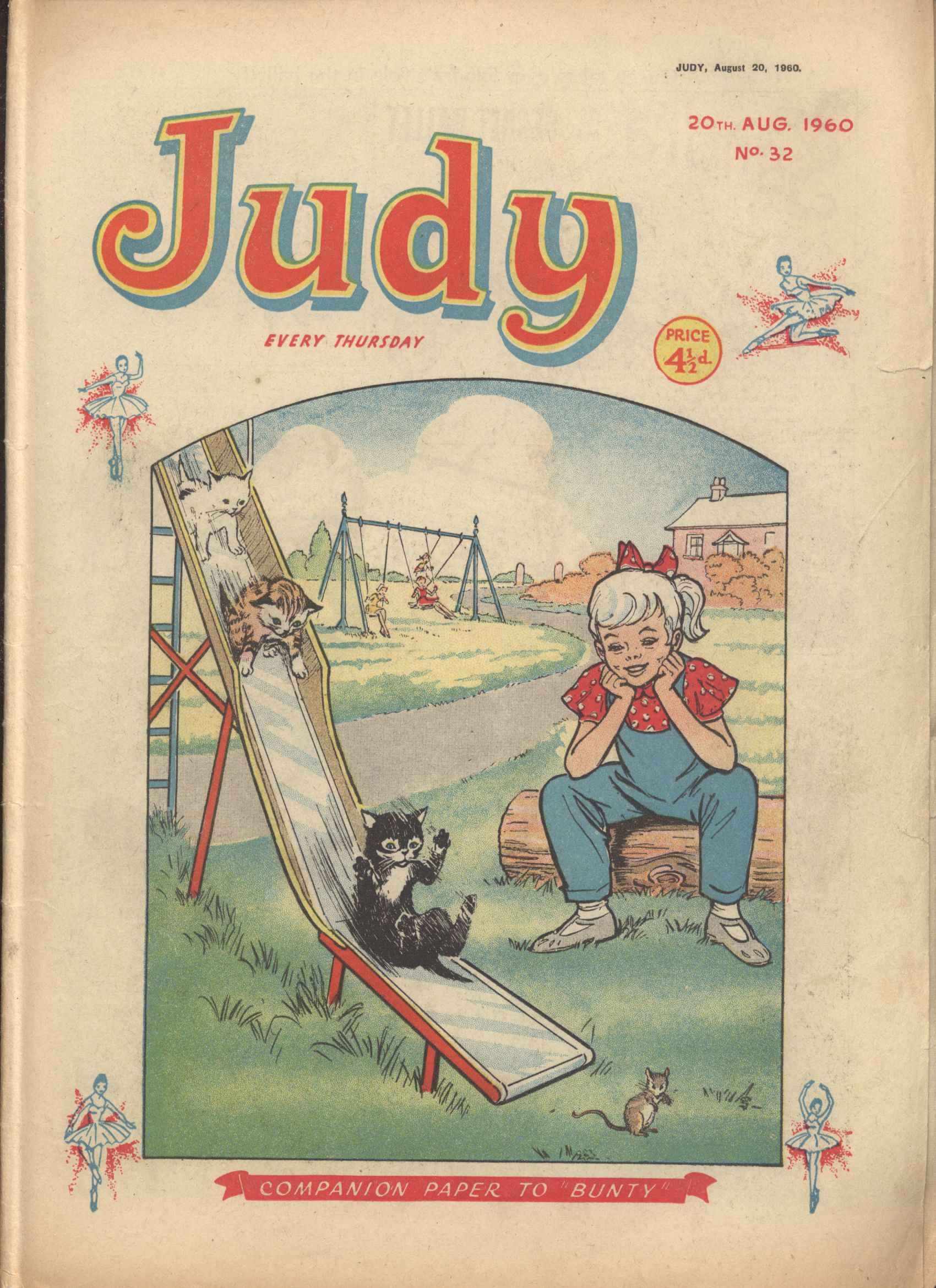 Read online Judy comic -  Issue #32 - 1