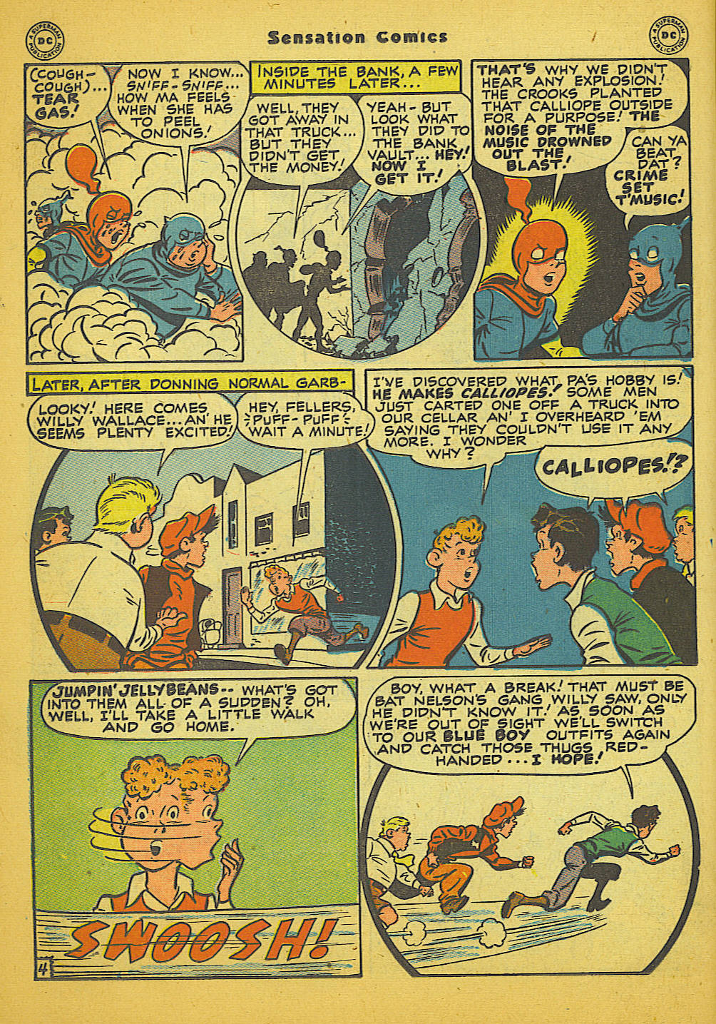 Read online Sensation (Mystery) Comics comic -  Issue #66 - 20