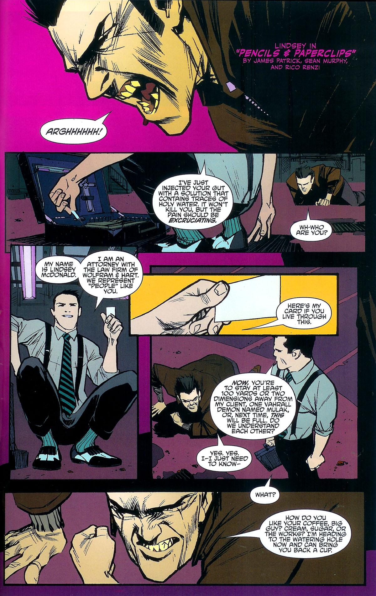 Read online Angel: Masks comic -  Issue # Full - 39