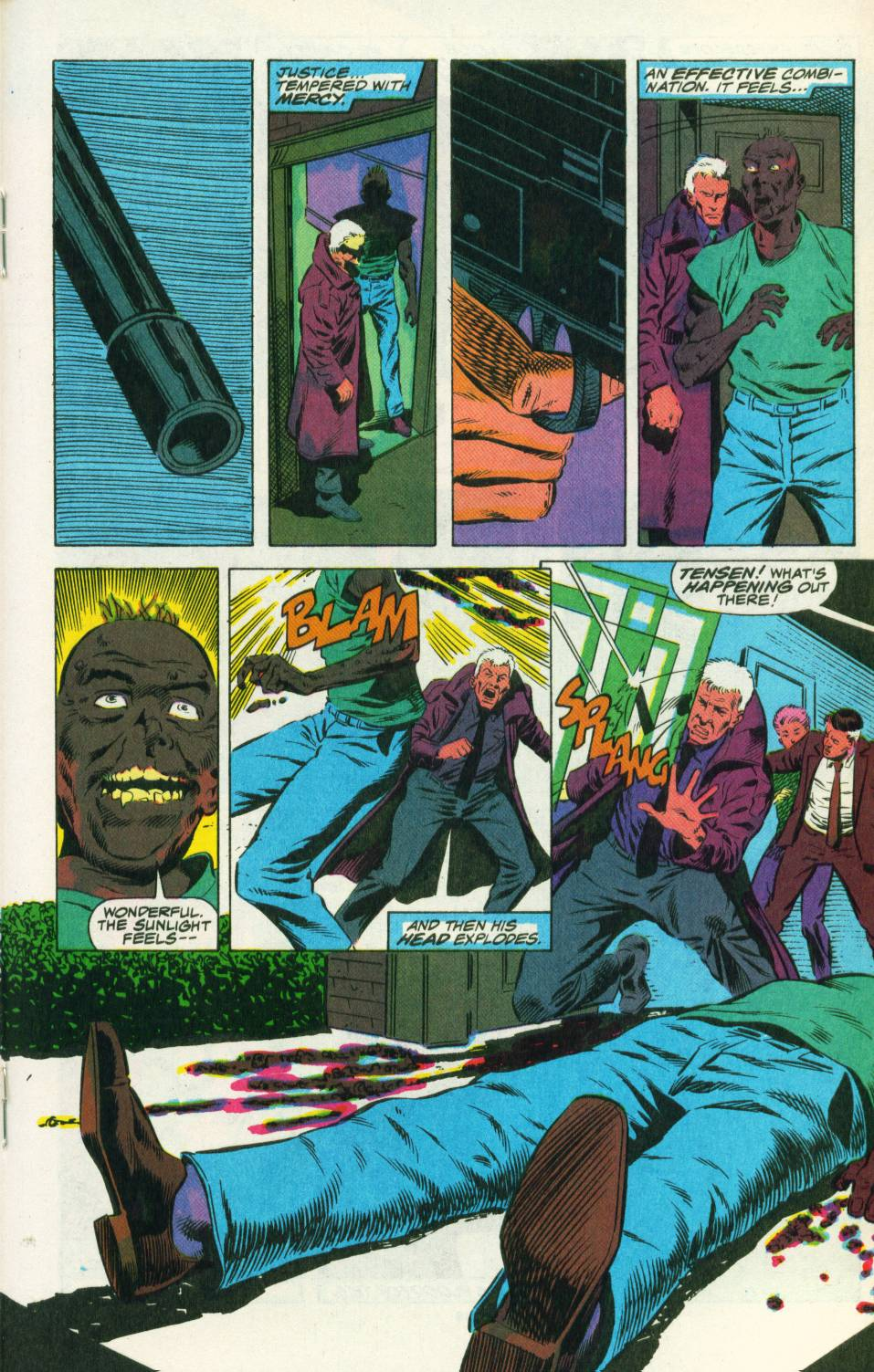 Read online Justice (1986) comic -  Issue #25 - 19