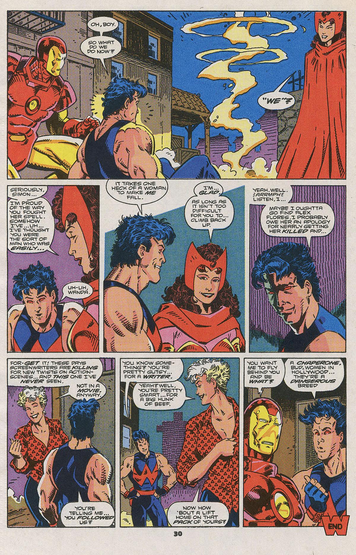 Read online Wonder Man (1991) comic -  Issue #2 - 24