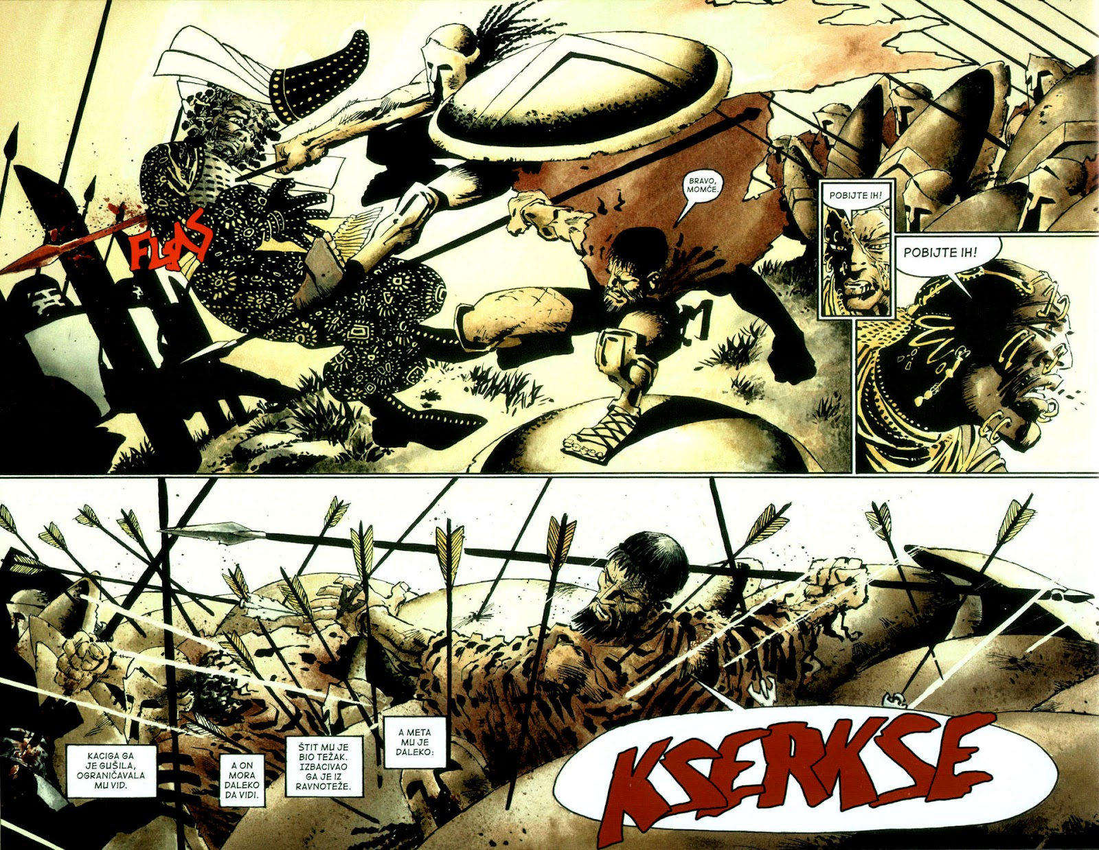 Read online 300 (2007) comic -  Issue # TPB - 79
