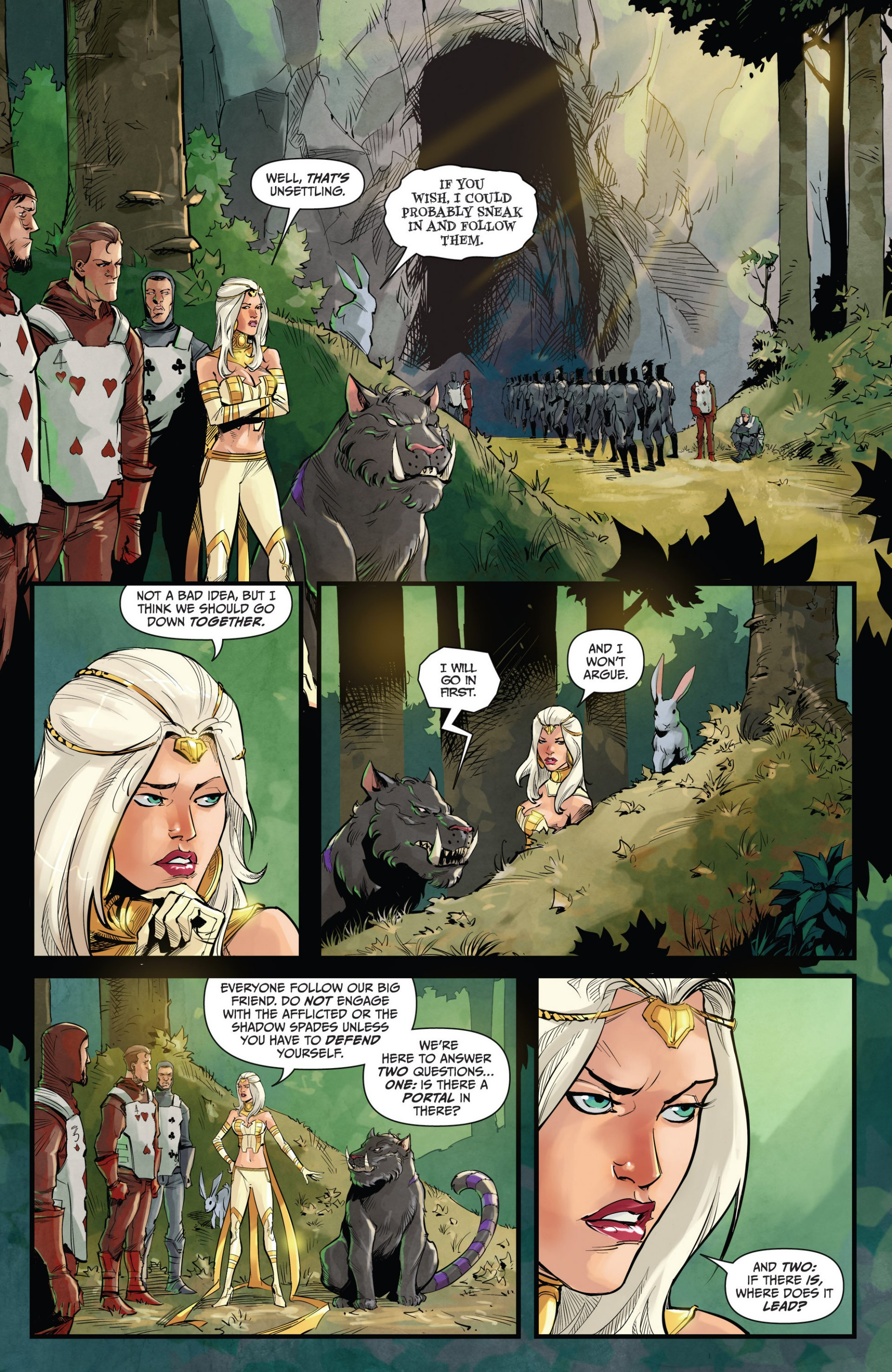 Read online Grimm Fairy Tales vs. Wonderland comic -  Issue #1 - 14