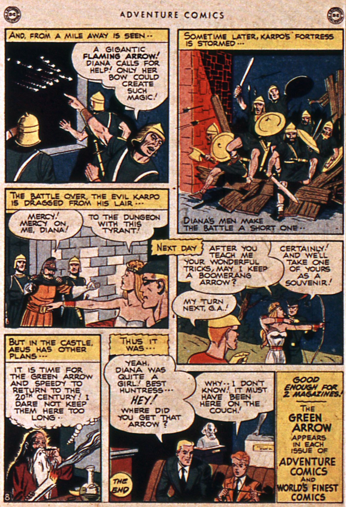 Read online Adventure Comics (1938) comic -  Issue #111 - 18