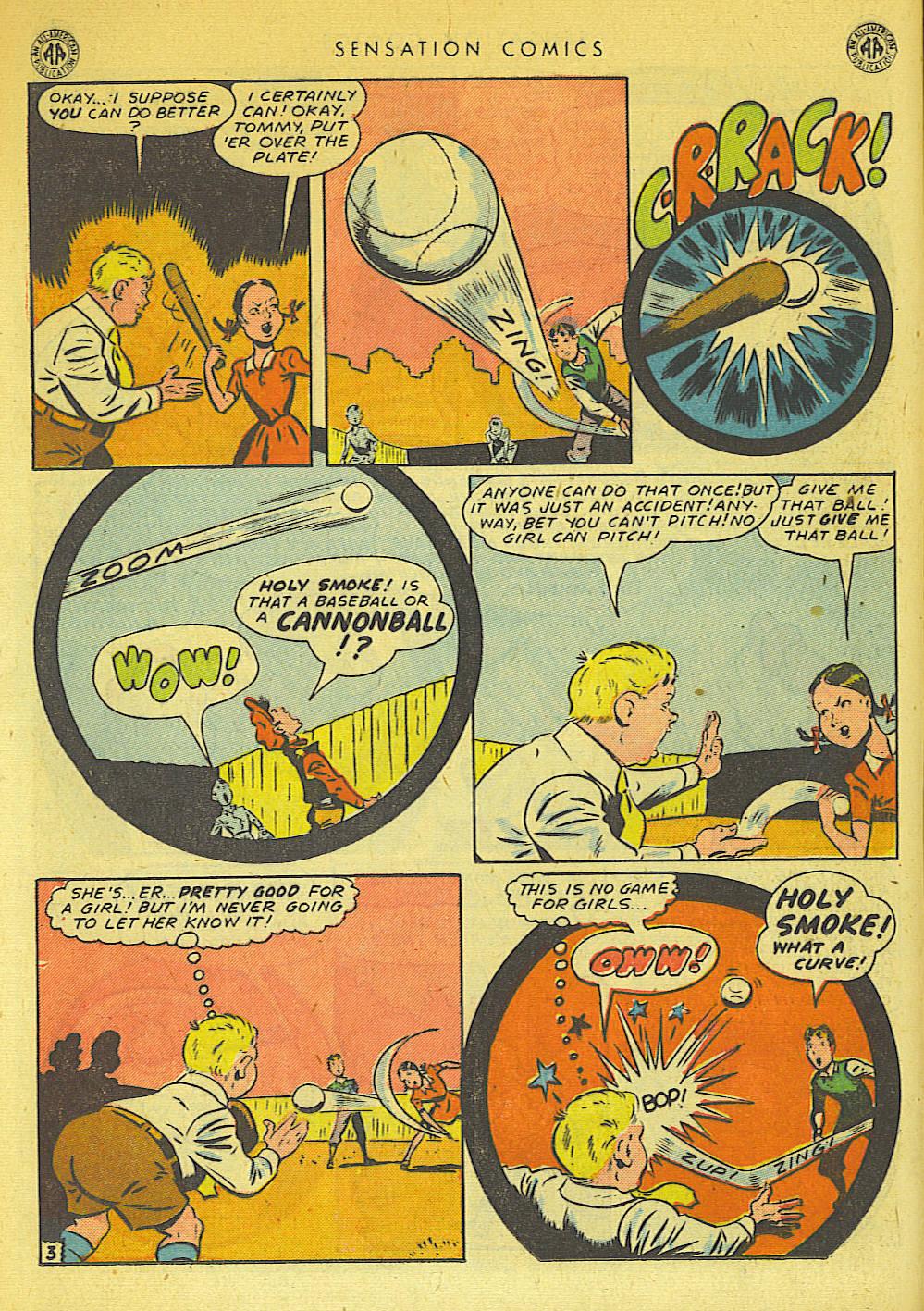Read online Sensation (Mystery) Comics comic -  Issue #42 - 18