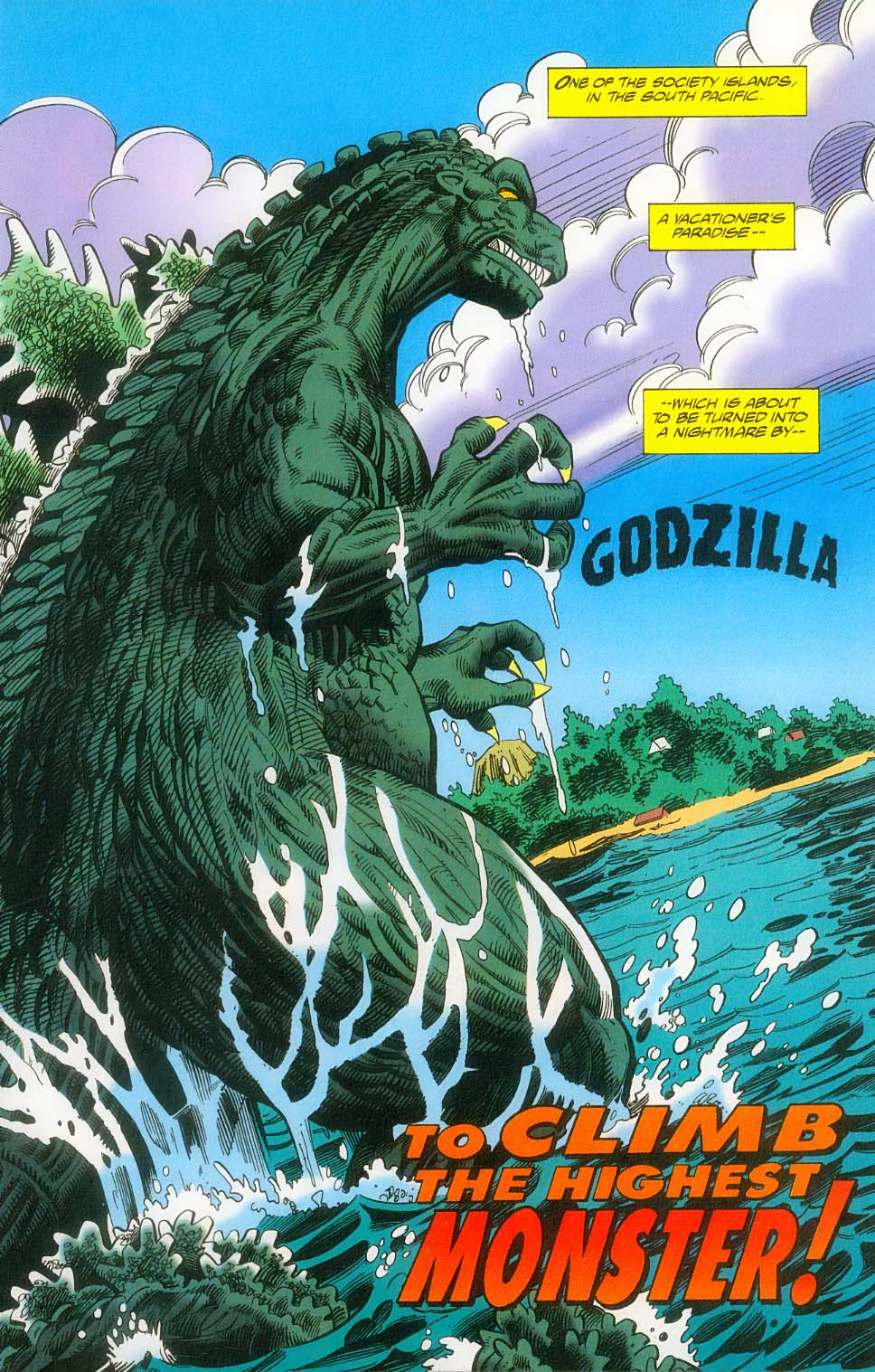 Godzilla (1995) Issue #14 #15 - English 4