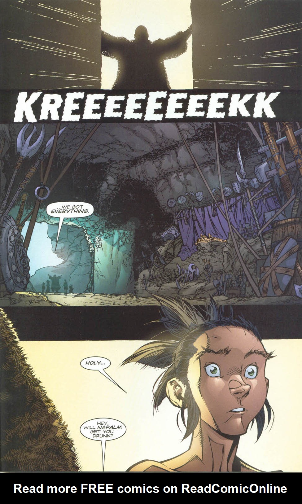 Read online Ninja Boy comic -  Issue #4 - 17
