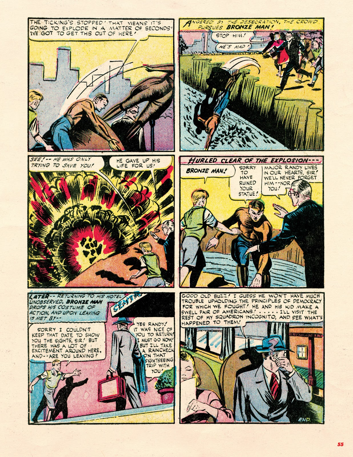 Read online Super Weird Heroes comic -  Issue # TPB 1 (Part 1) - 54