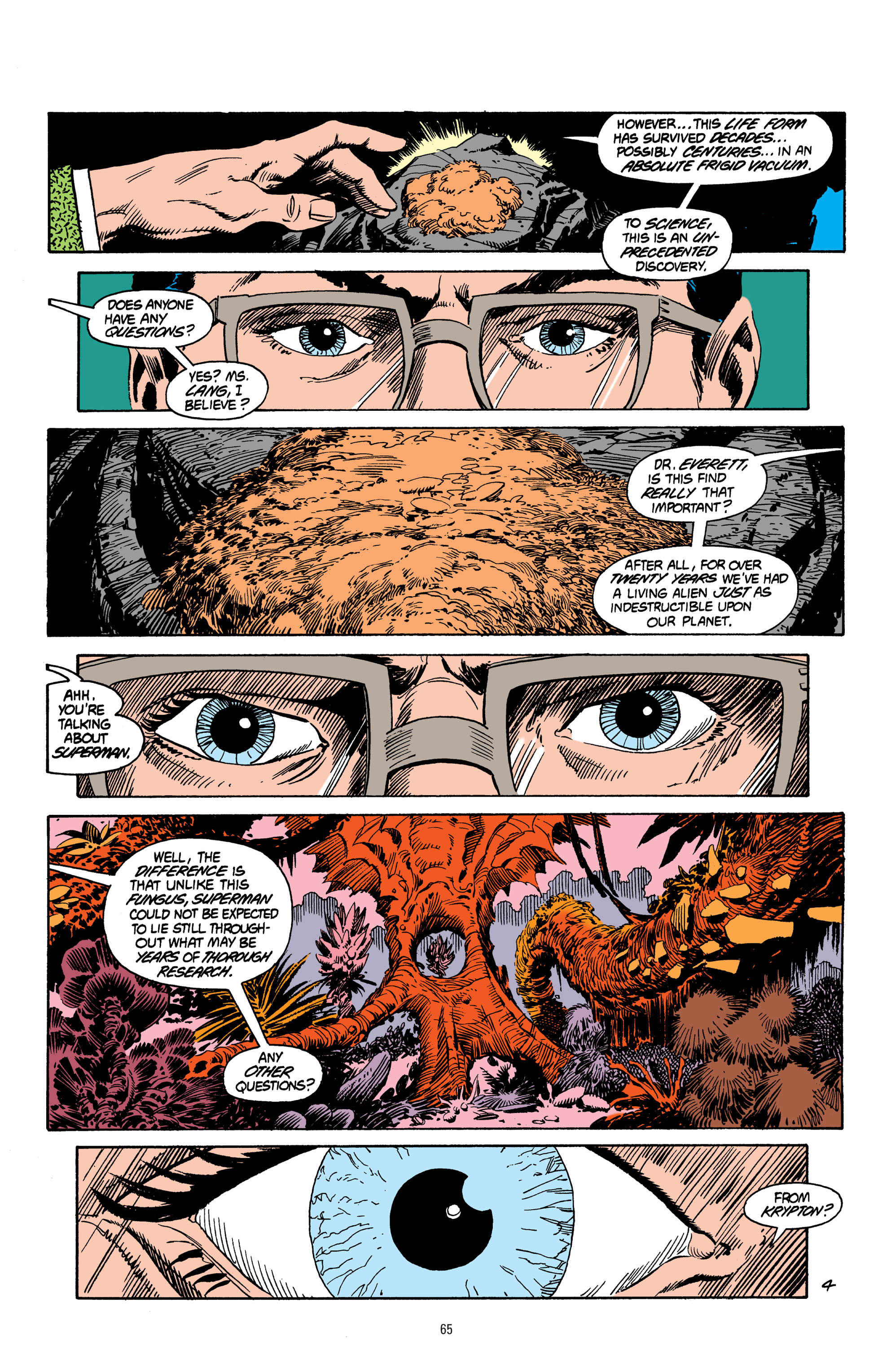 Read online Superman: Whatever Happened to the Man of Tomorrow? comic -  Issue # TPB - 64