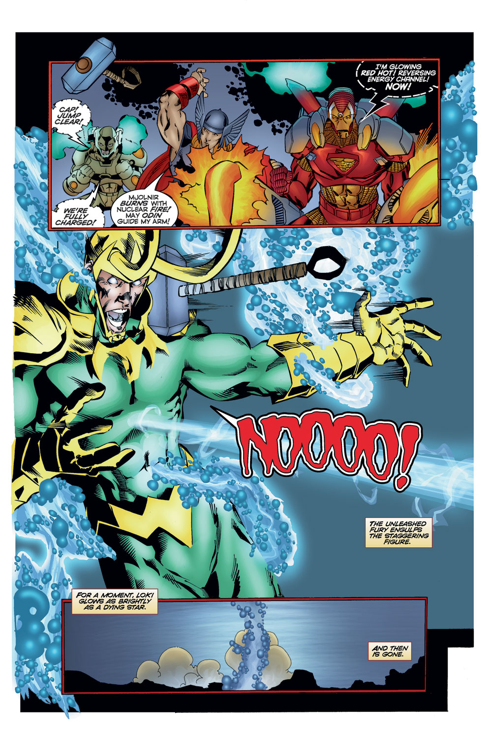 Read online Avengers (1996) comic -  Issue #11 - 21