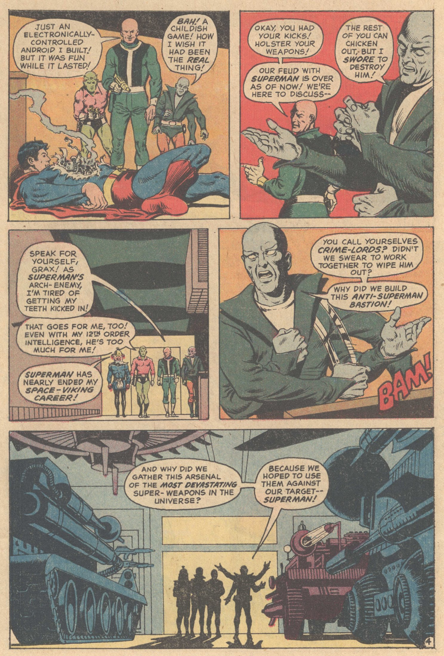 Read online Action Comics (1938) comic -  Issue #417 - 5