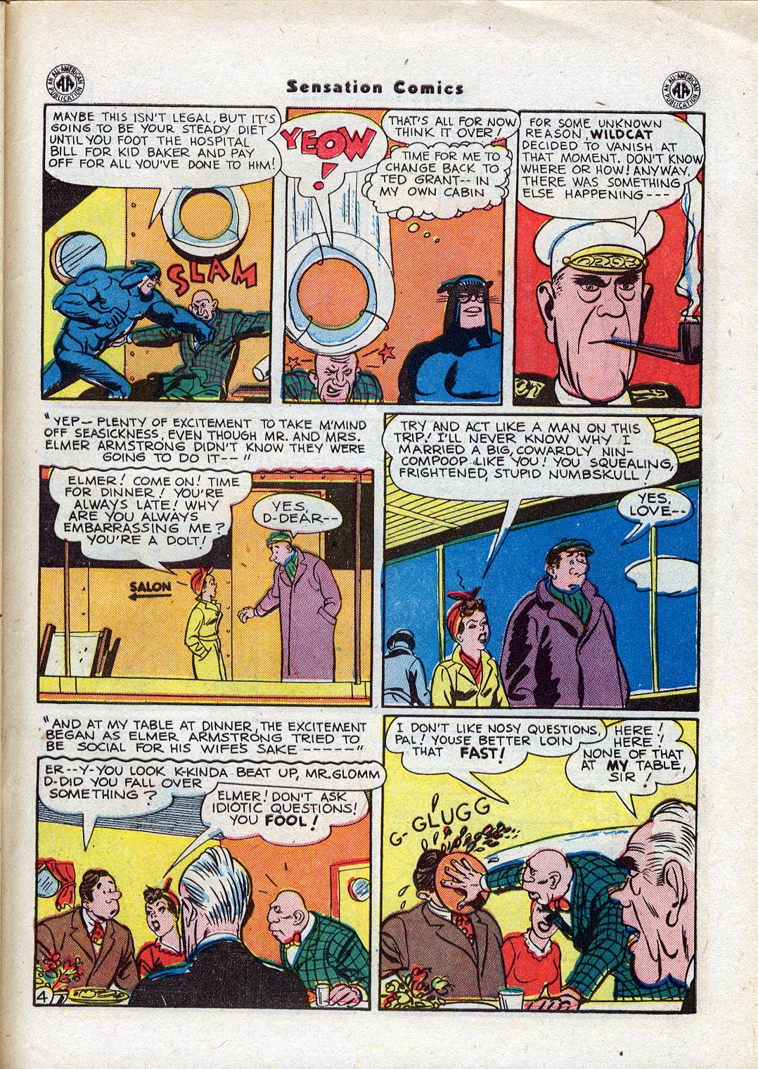 Read online Sensation (Mystery) Comics comic -  Issue #44 - 45