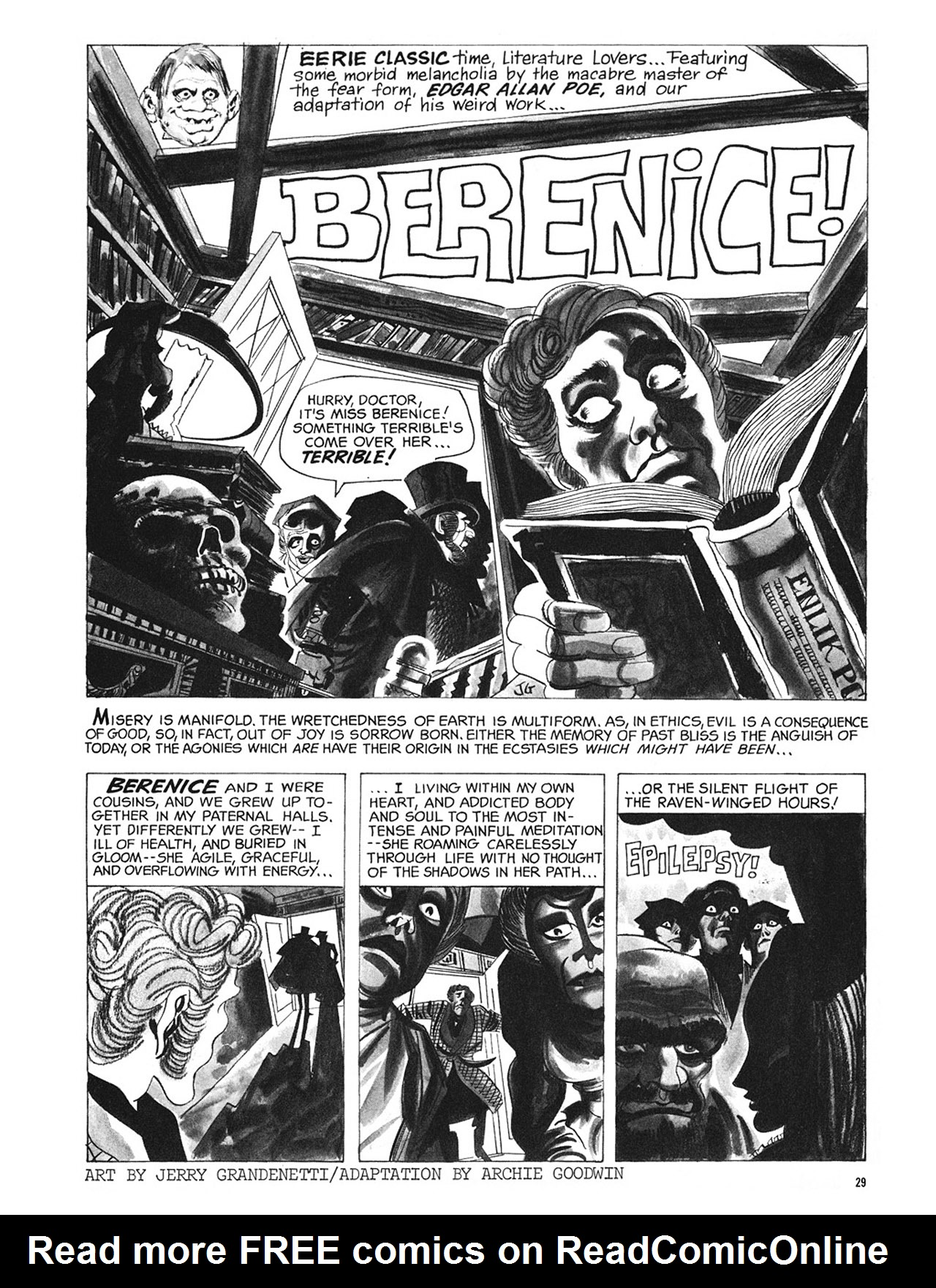 Read online Eerie Archives comic -  Issue # TPB 3 - 30