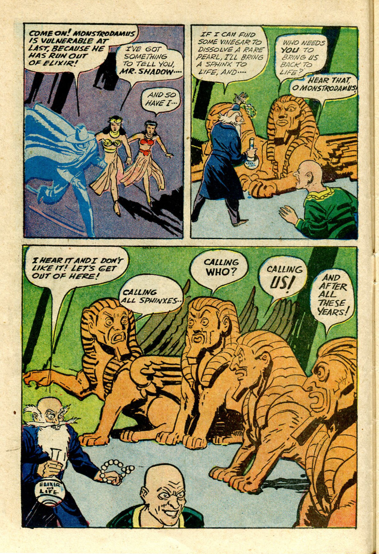 Read online Shadow Comics comic -  Issue #33 - 16