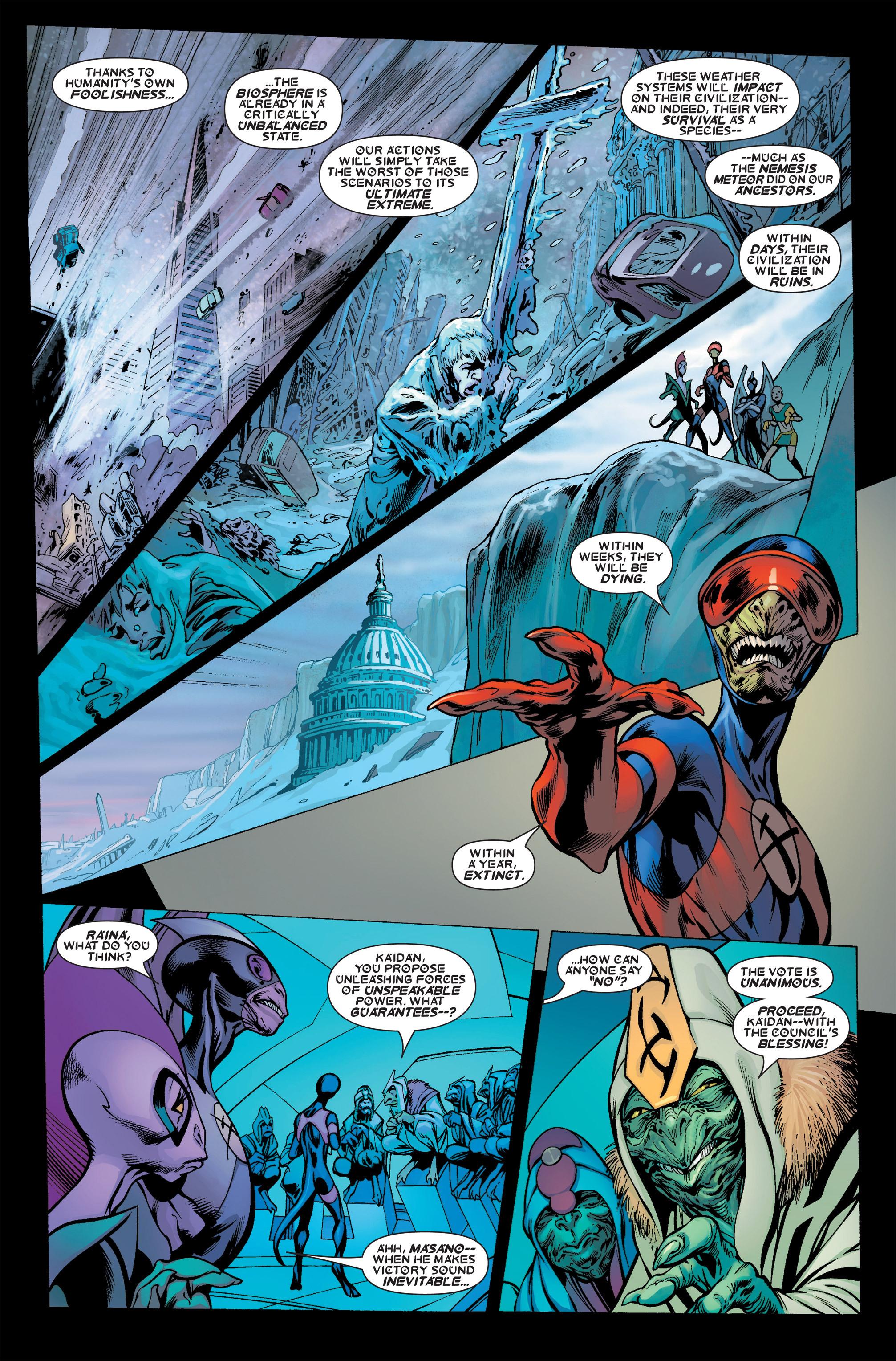 Read online Uncanny X-Men (1963) comic -  Issue #457 - 16