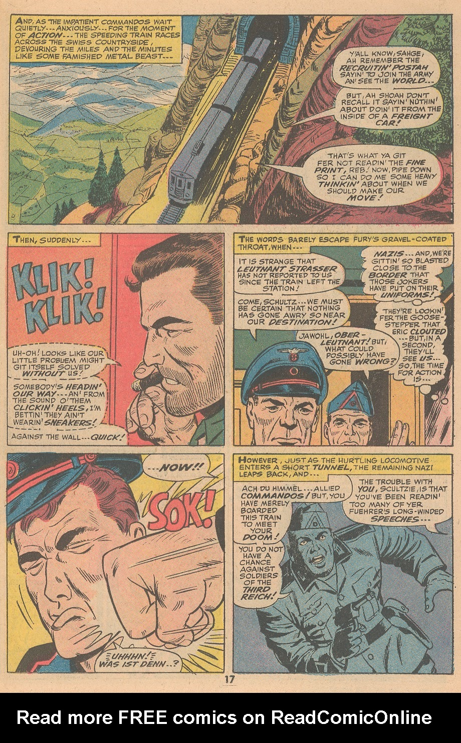 Read online Sgt. Fury comic -  Issue #105 - 19