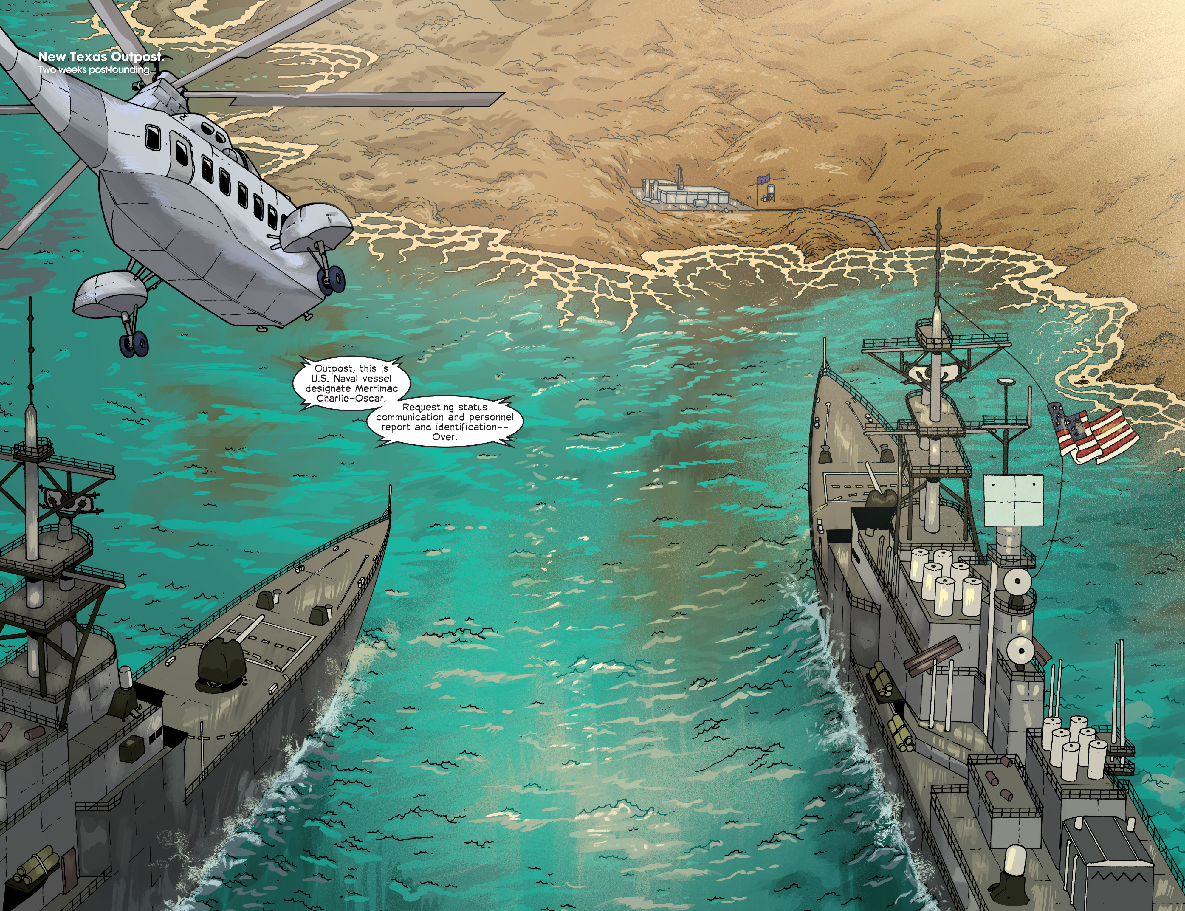 Read online Great Pacific comic -  Issue #6 - 4