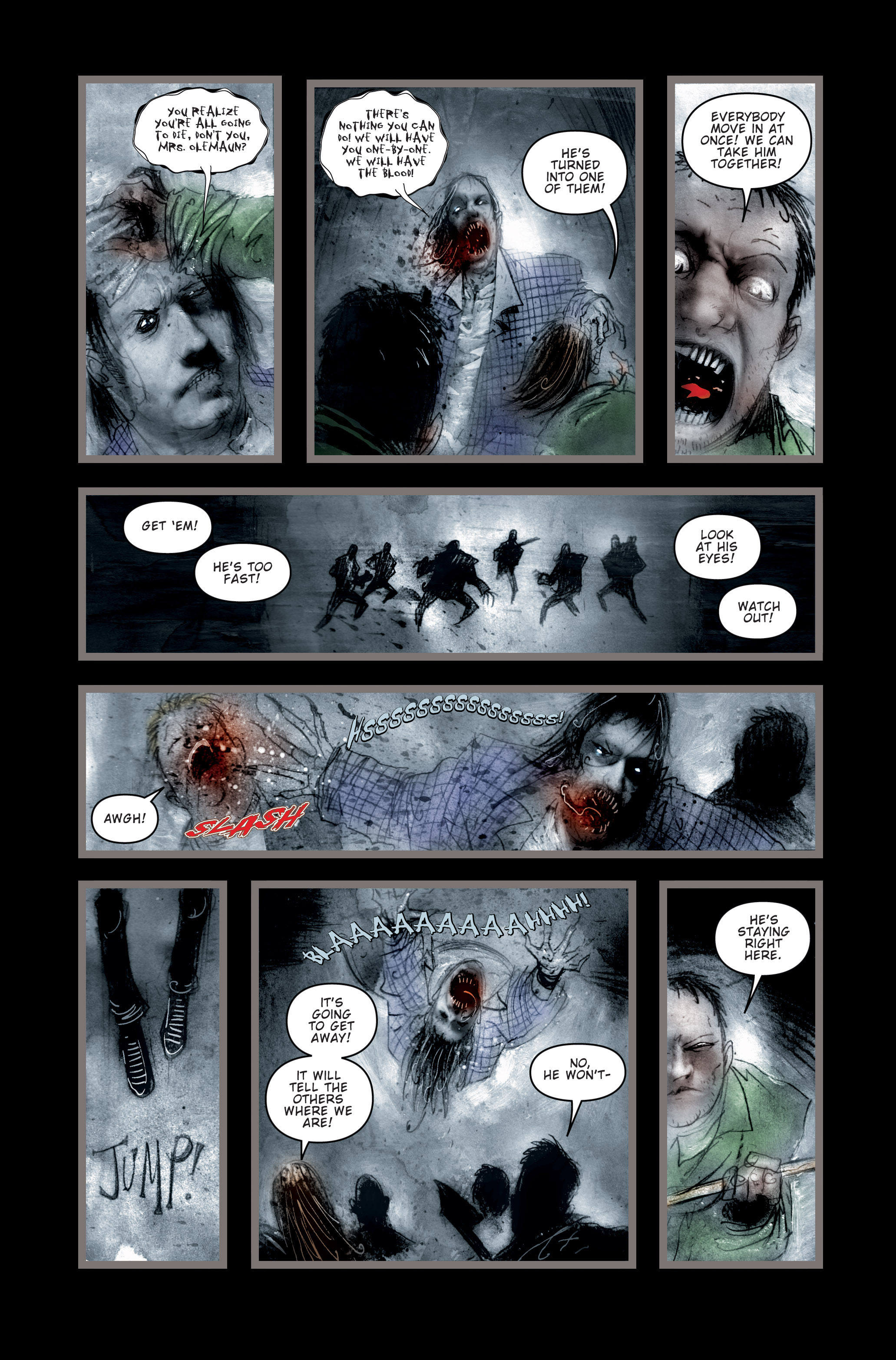 Read online 30 Days of Night (2002) comic -  Issue #3 - 5