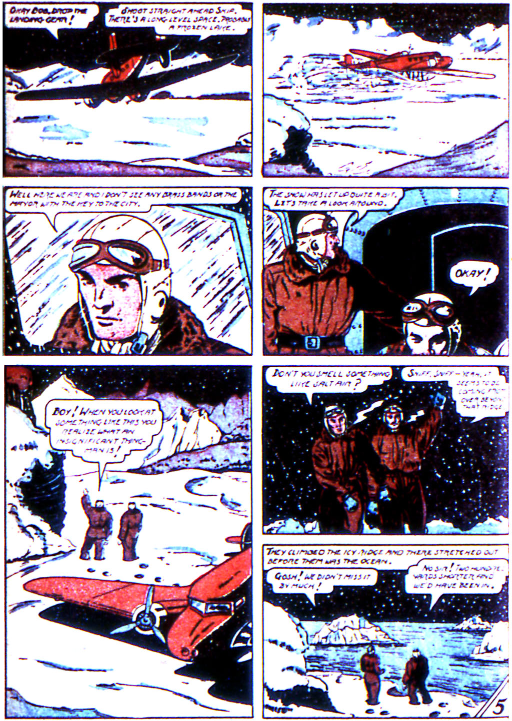 Read online Adventure Comics (1938) comic -  Issue #44 - 48