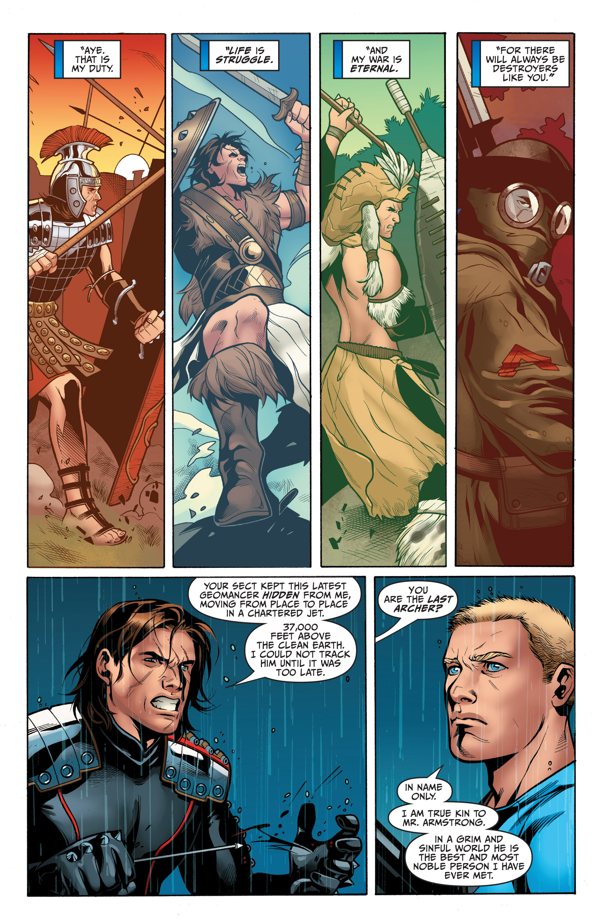 Read online Archer and Armstrong comic -  Issue #5 - 19