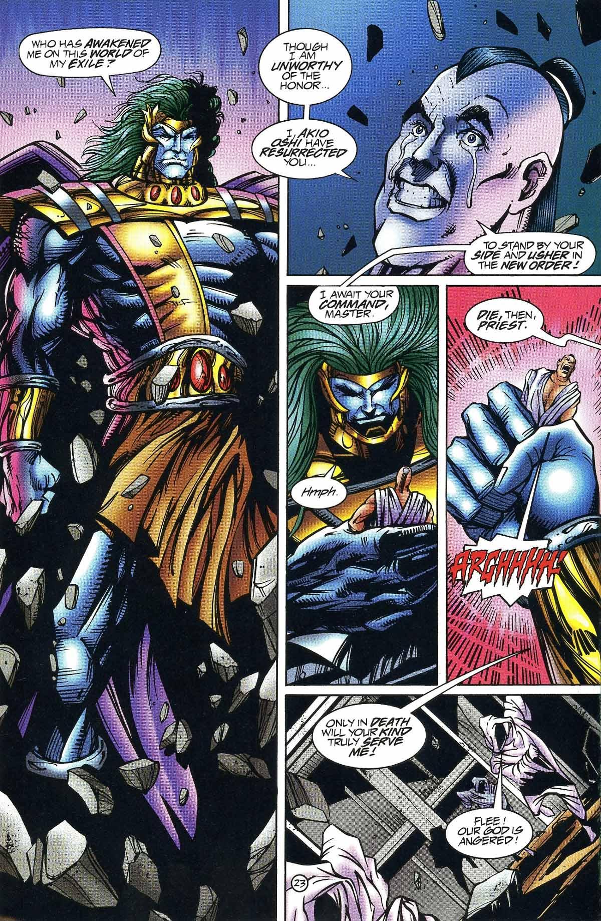 Read online Rune (1994) comic -  Issue #9 - 25