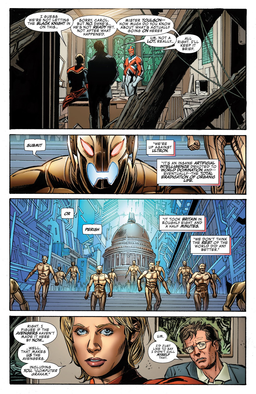 Read online Age of Ultron Companion comic -  Issue # TPB (Part 1) - 32