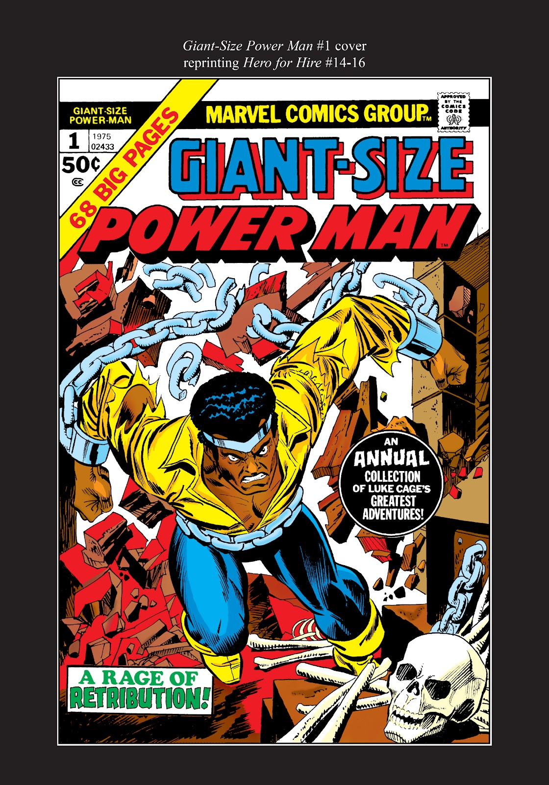 Read online Marvel Masterworks: Luke Cage, Power Man comic -  Issue # TPB 2 (Part 3) - 95