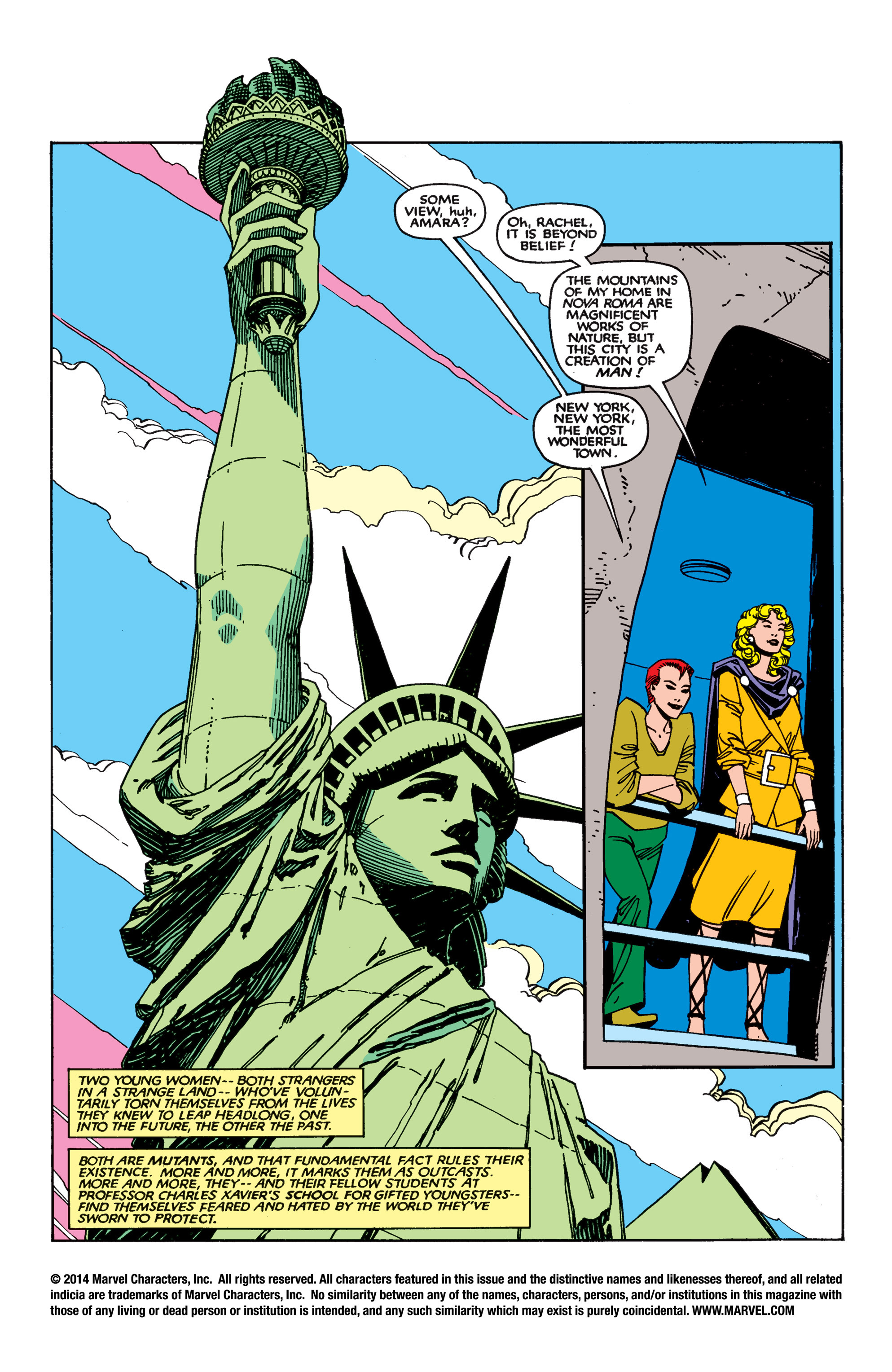 Read online Uncanny X-Men (1963) comic -  Issue #189 - 2