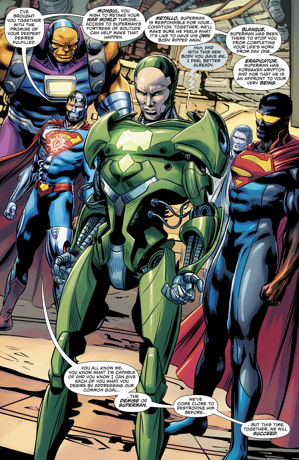 Read online Action Comics (2016) comic -  Issue #980 - 5