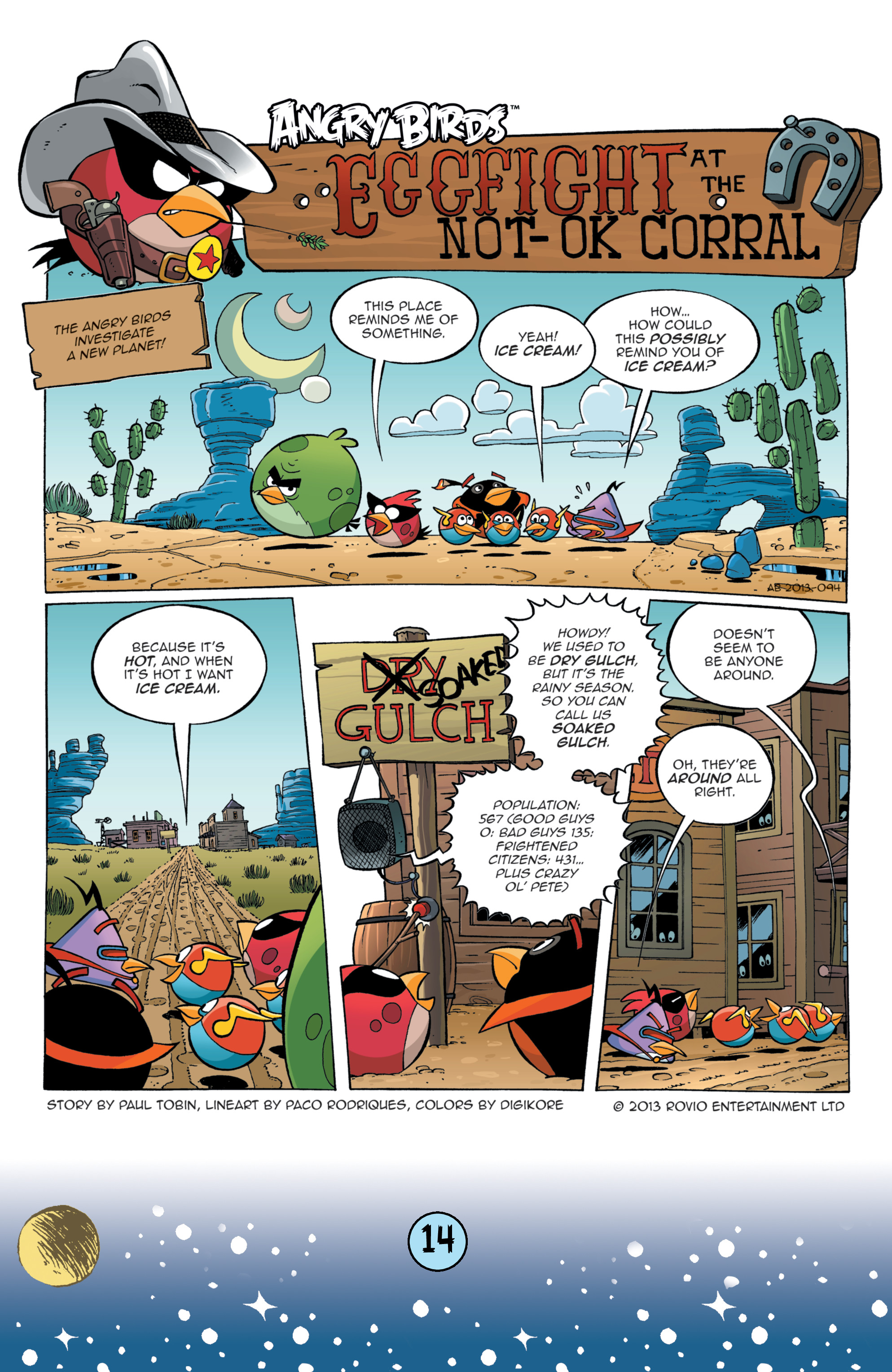 Read online Angry Birds Comics (2016) comic -  Issue #9 - 16