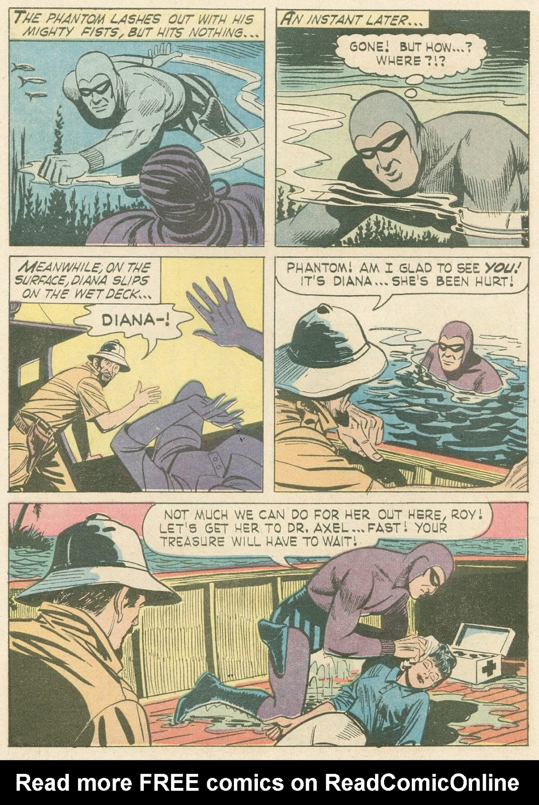The Phantom (1966) issue 21 - Page 5