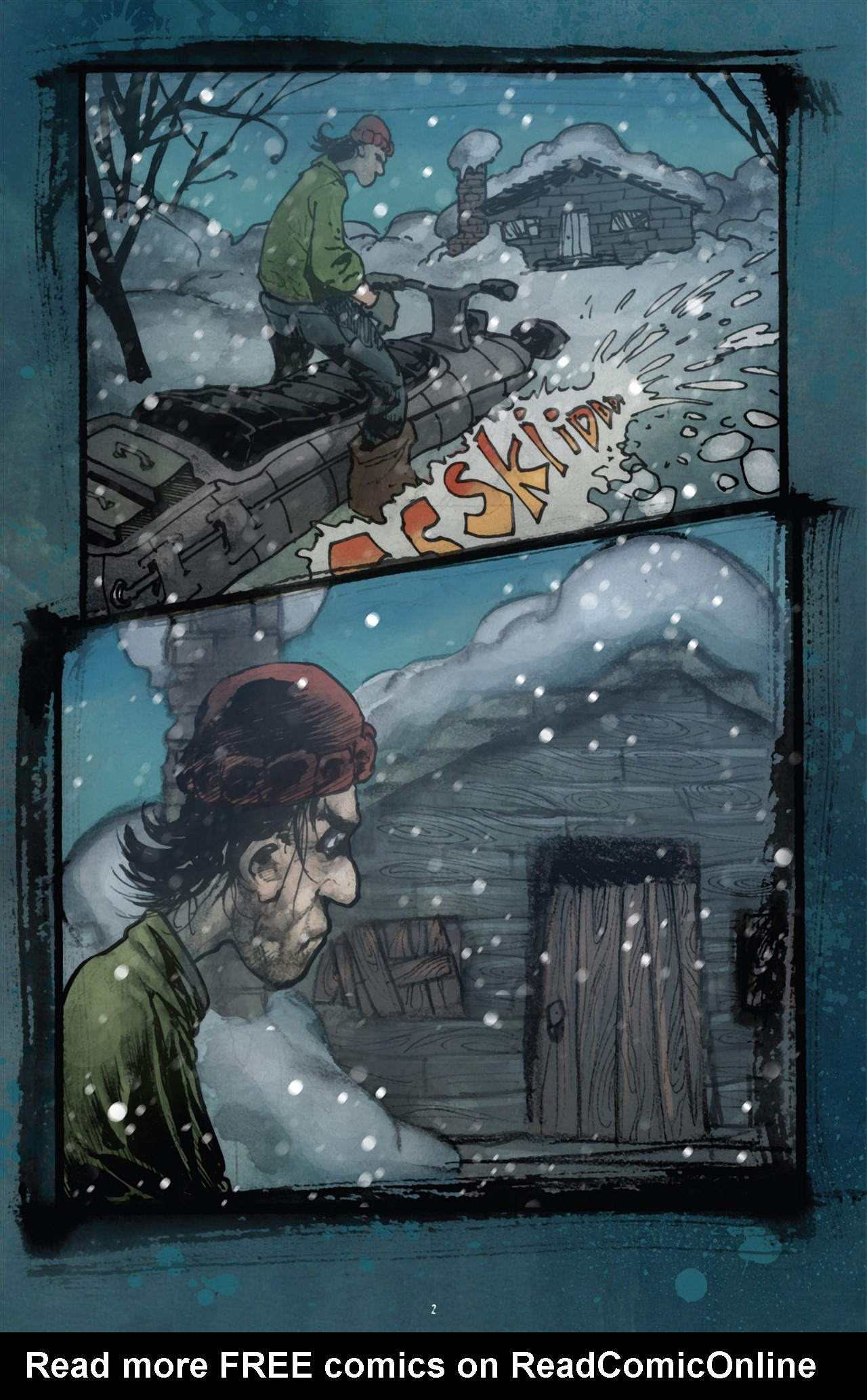 Read online 30 Days of Night (2011) comic -  Issue #3 - 6