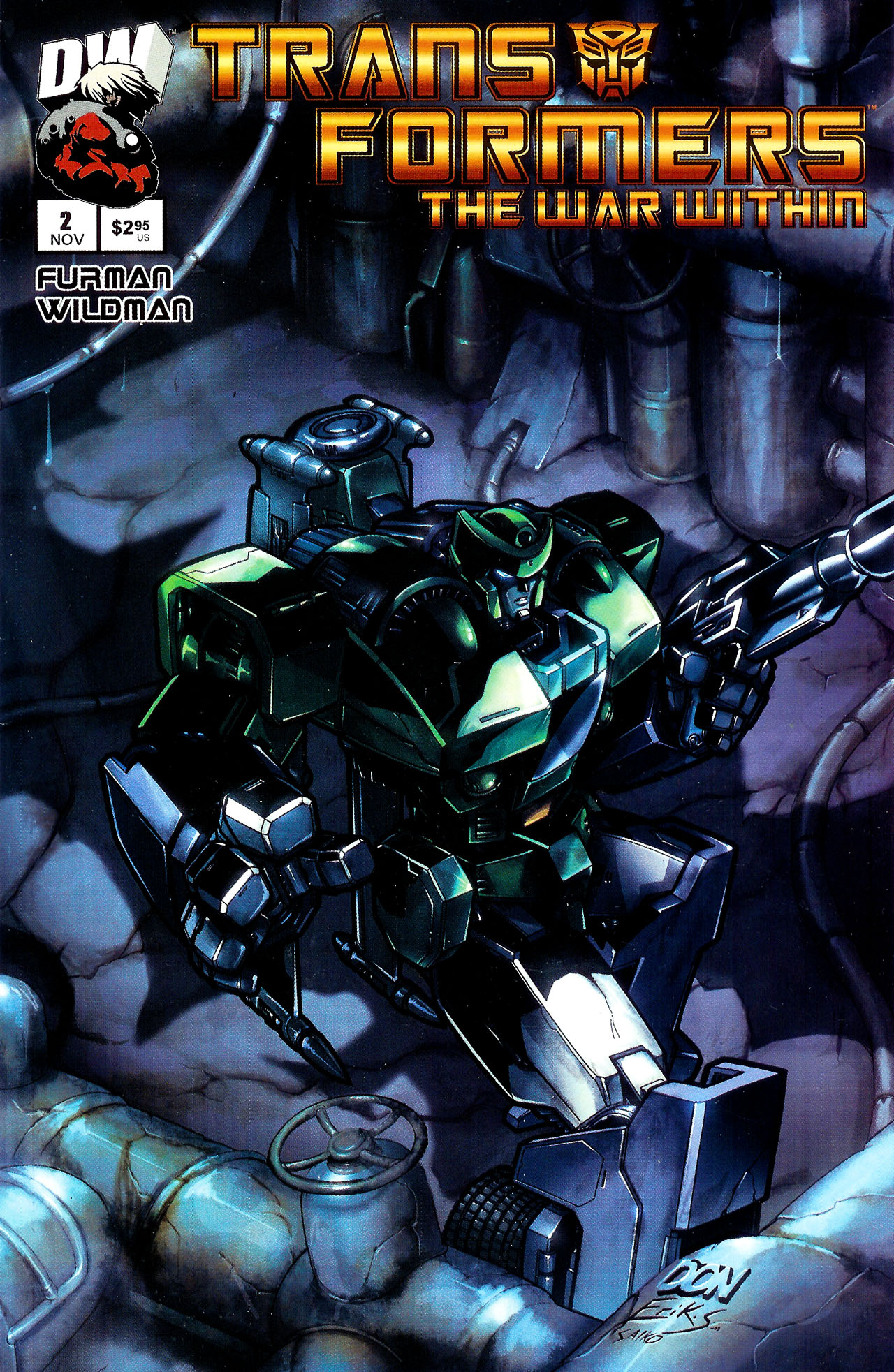 """Read online Transformers War Within: """"The Dark Ages"""" comic -  Issue #2 - 1"""