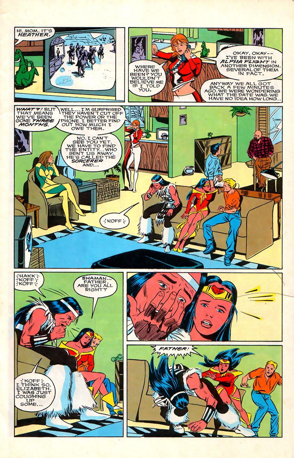 Read online Alpha Flight (1983) comic -  Issue #76 - 7