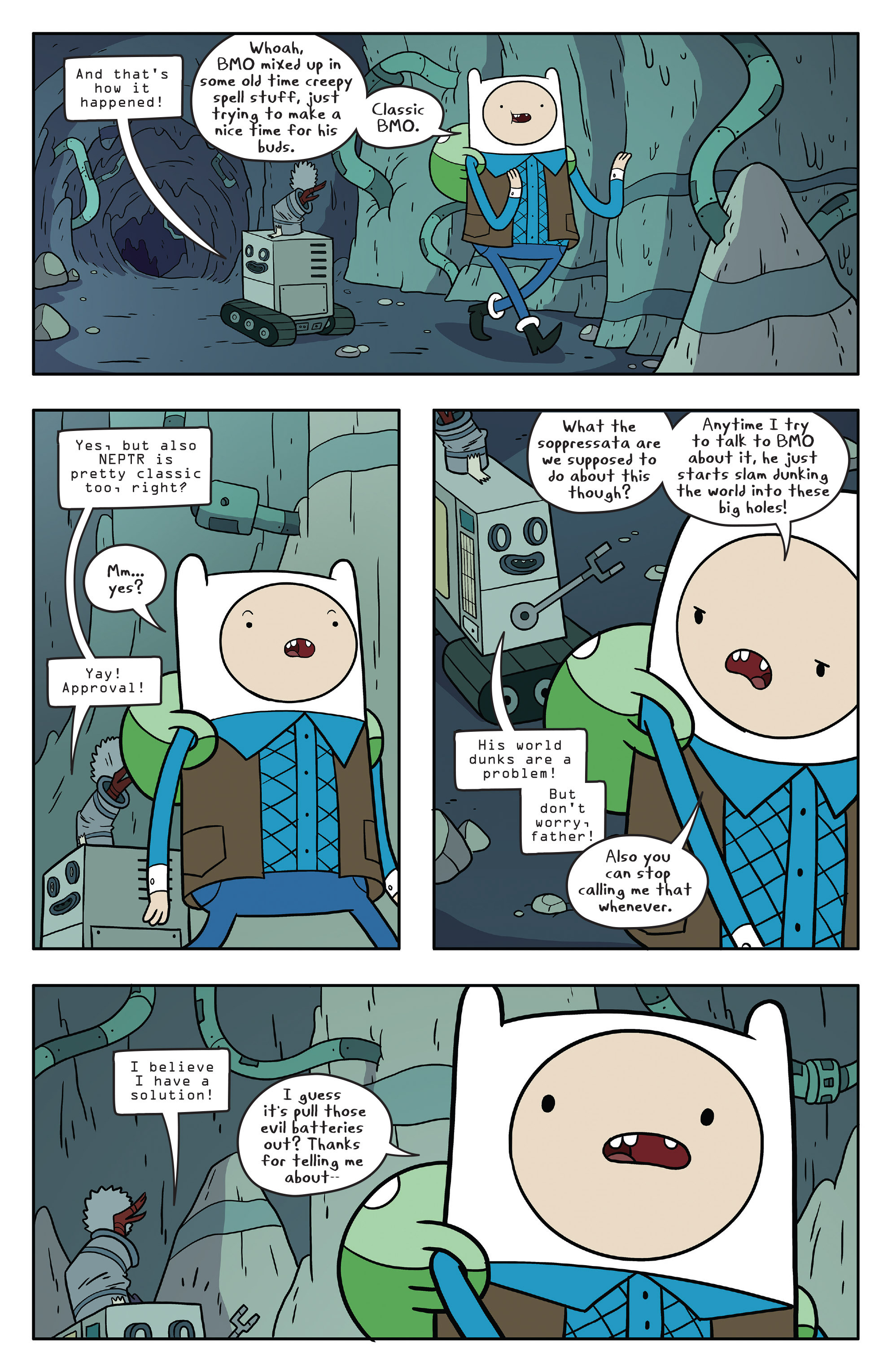 Read online Adventure Time comic -  Issue #56 - 12