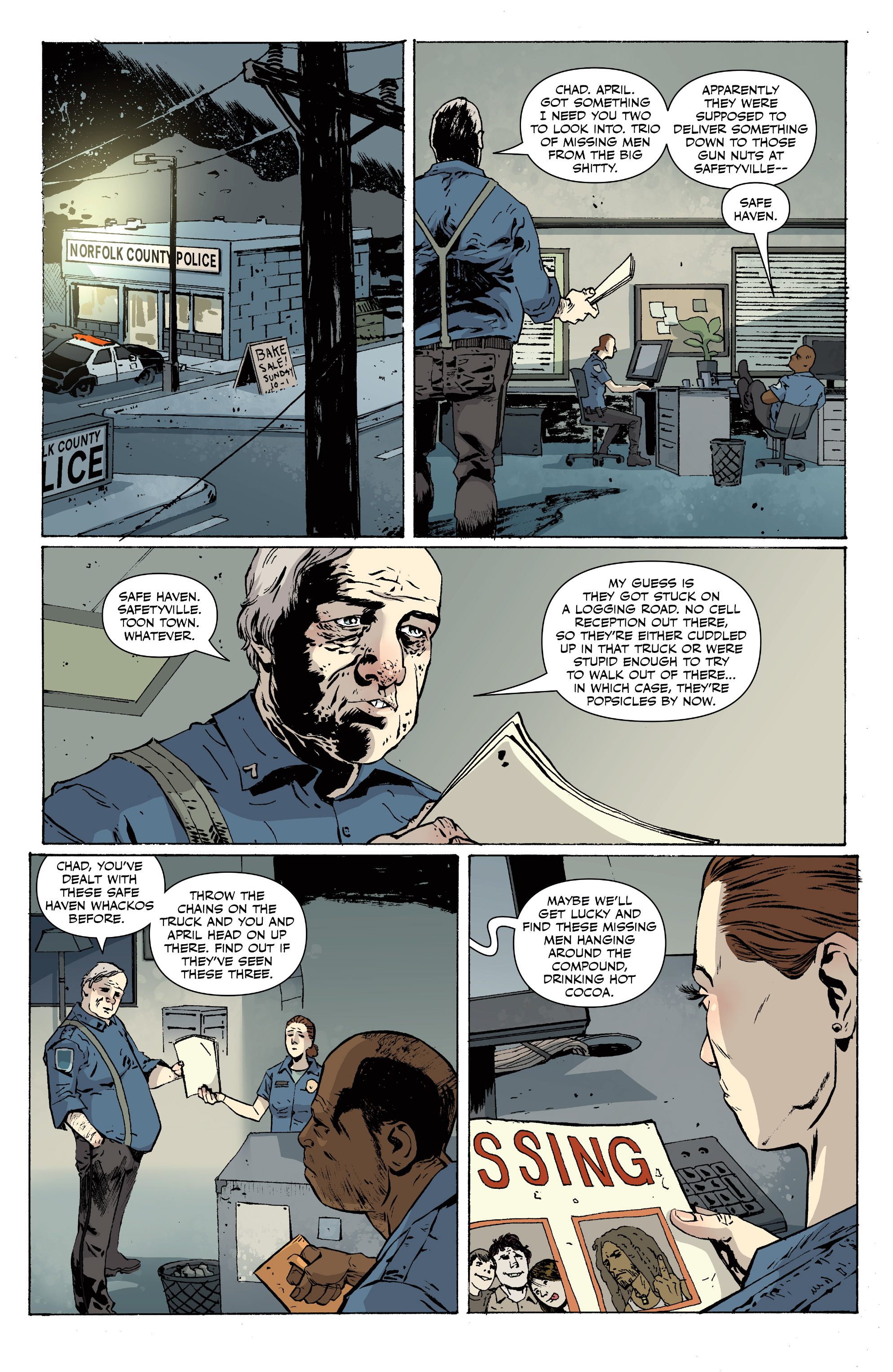 Read online Sheltered comic -  Issue #11 - 14
