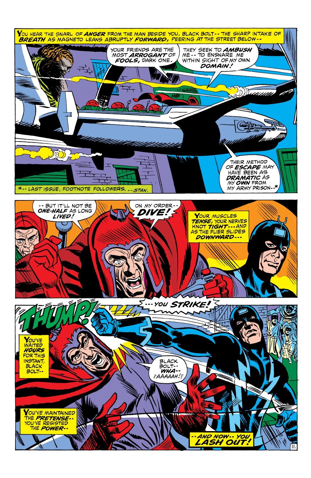 Read online Marvel Masterworks: The Inhumans comic -  Issue # TPB 1 (Part 2) - 89