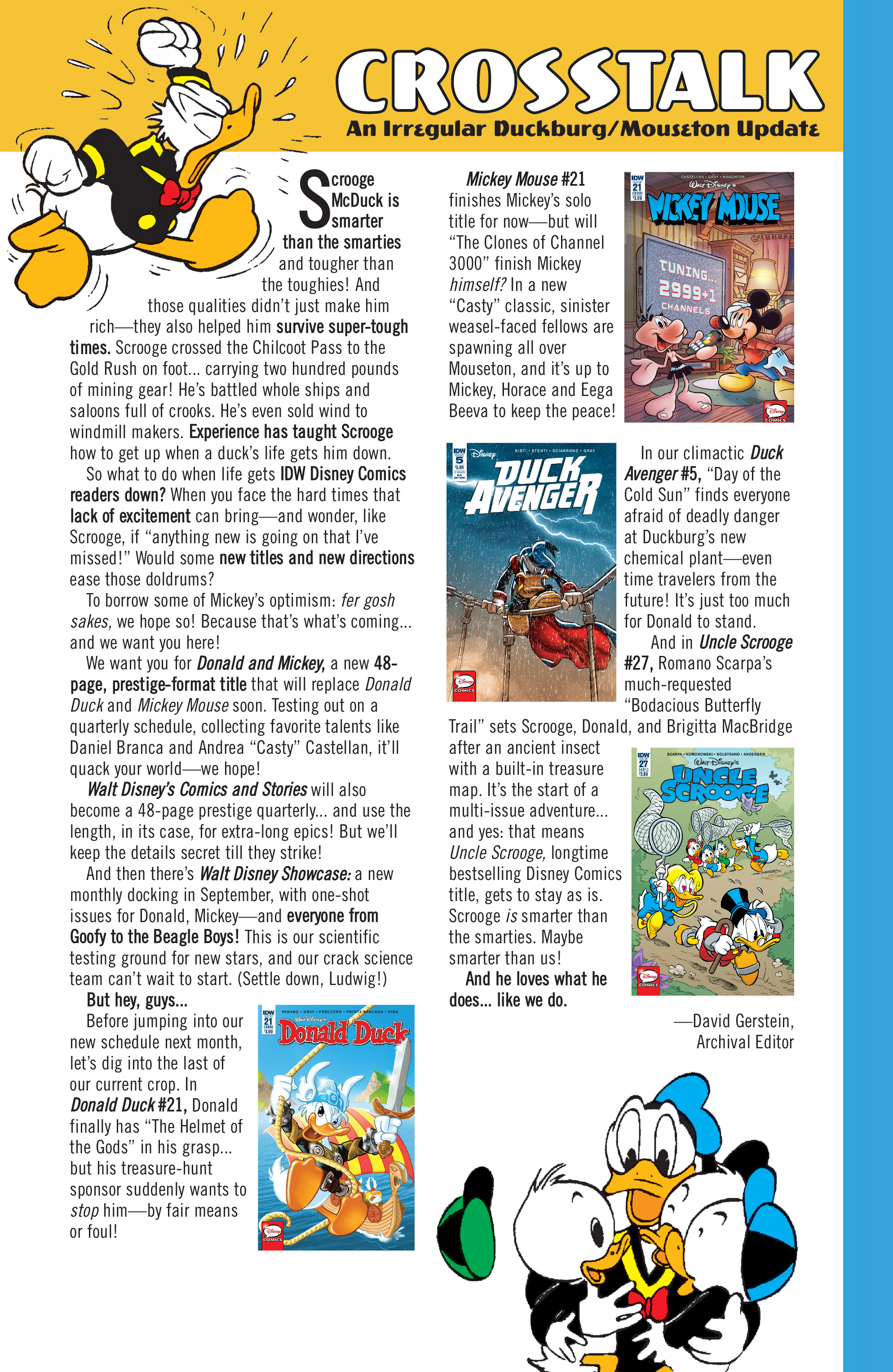 Read online Donald Duck (2015) comic -  Issue #21 - 35