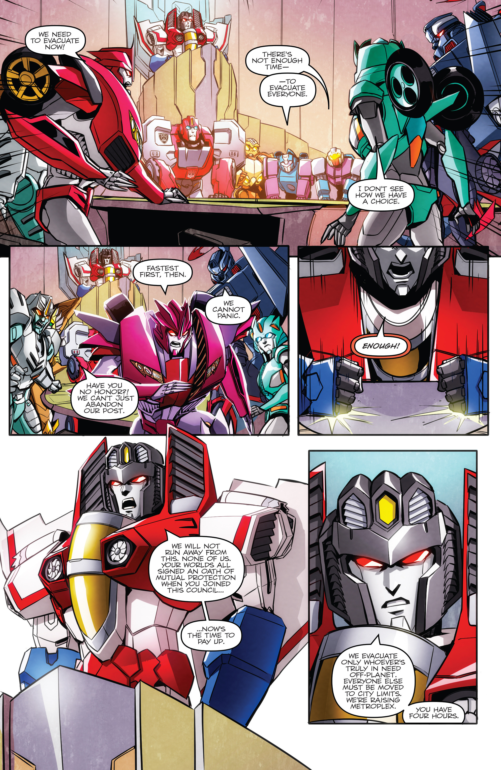 Read online Transformers: Till All Are One comic -  Issue #5 - 11