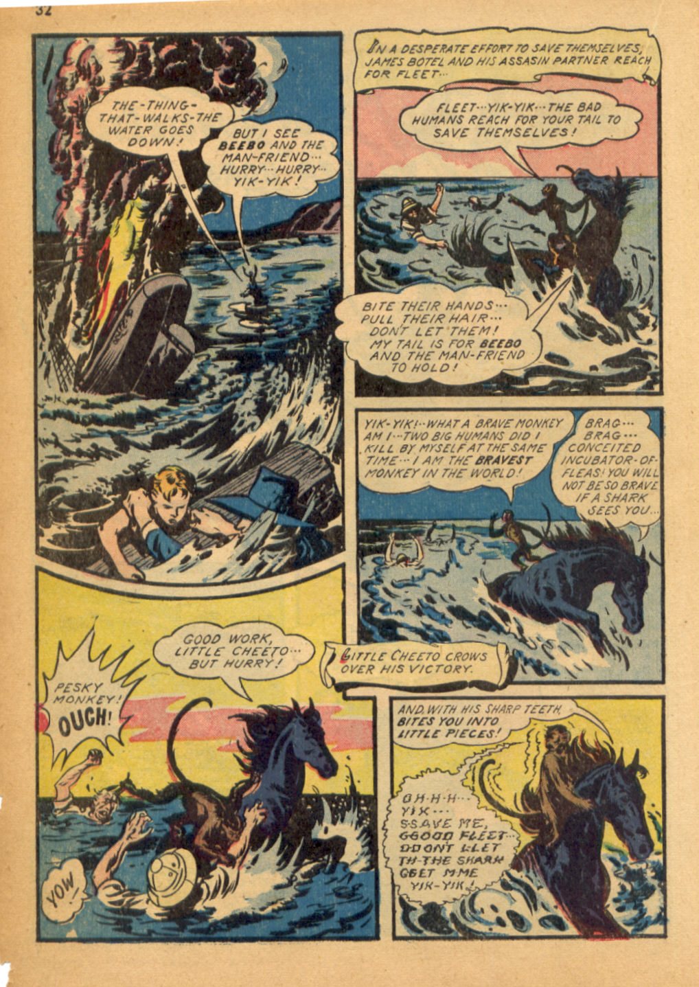 Read online Shadow Comics comic -  Issue #32 - 33