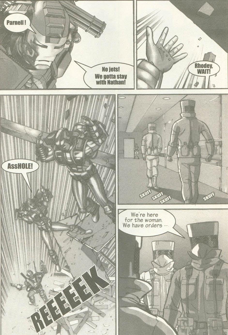 Read online U.S. War Machine comic -  Issue #6 - 24