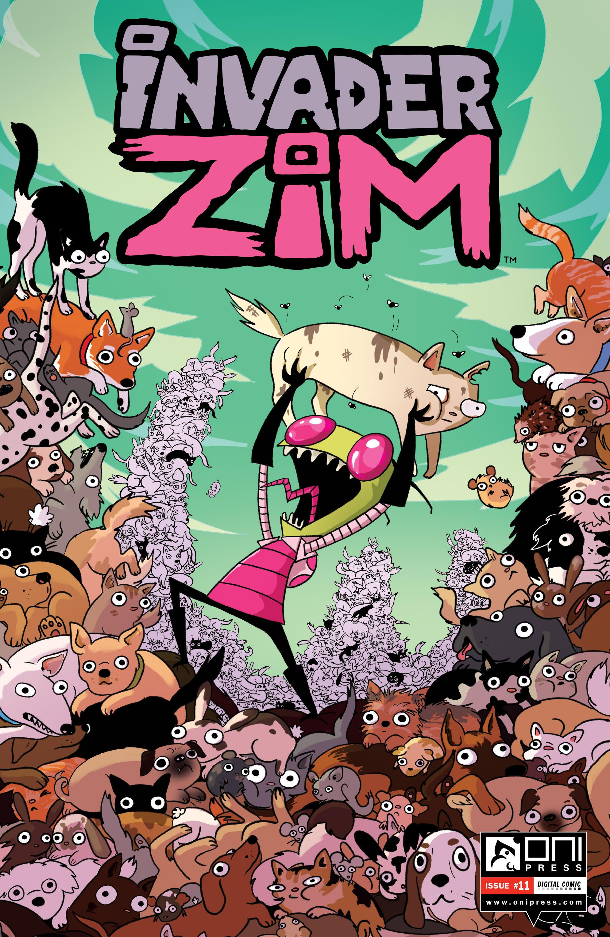 Invader Zim 11 Page 1