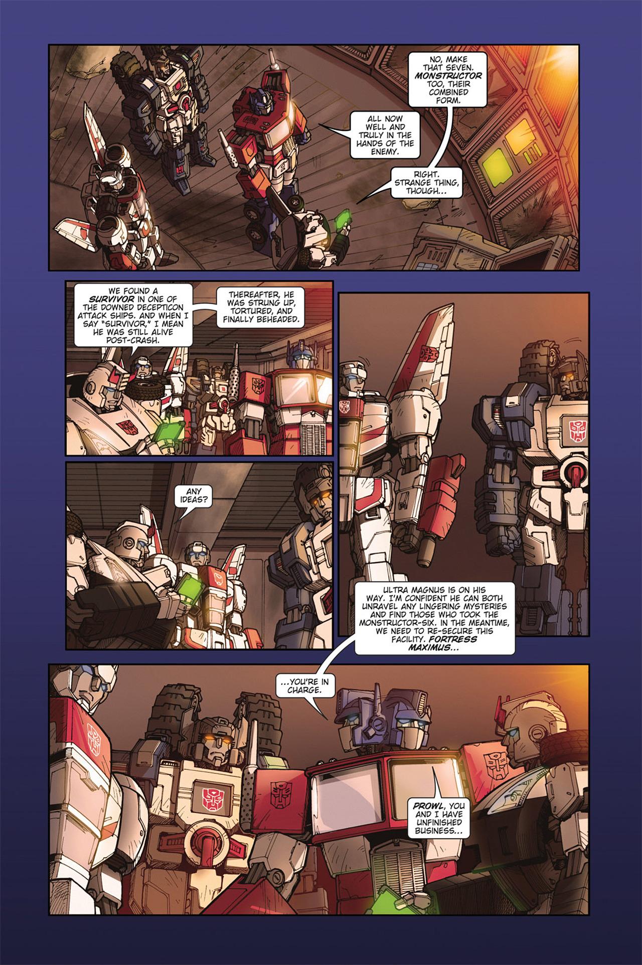 Read online Transformers Spotlight: Cyclonus comic -  Issue # Full - 14