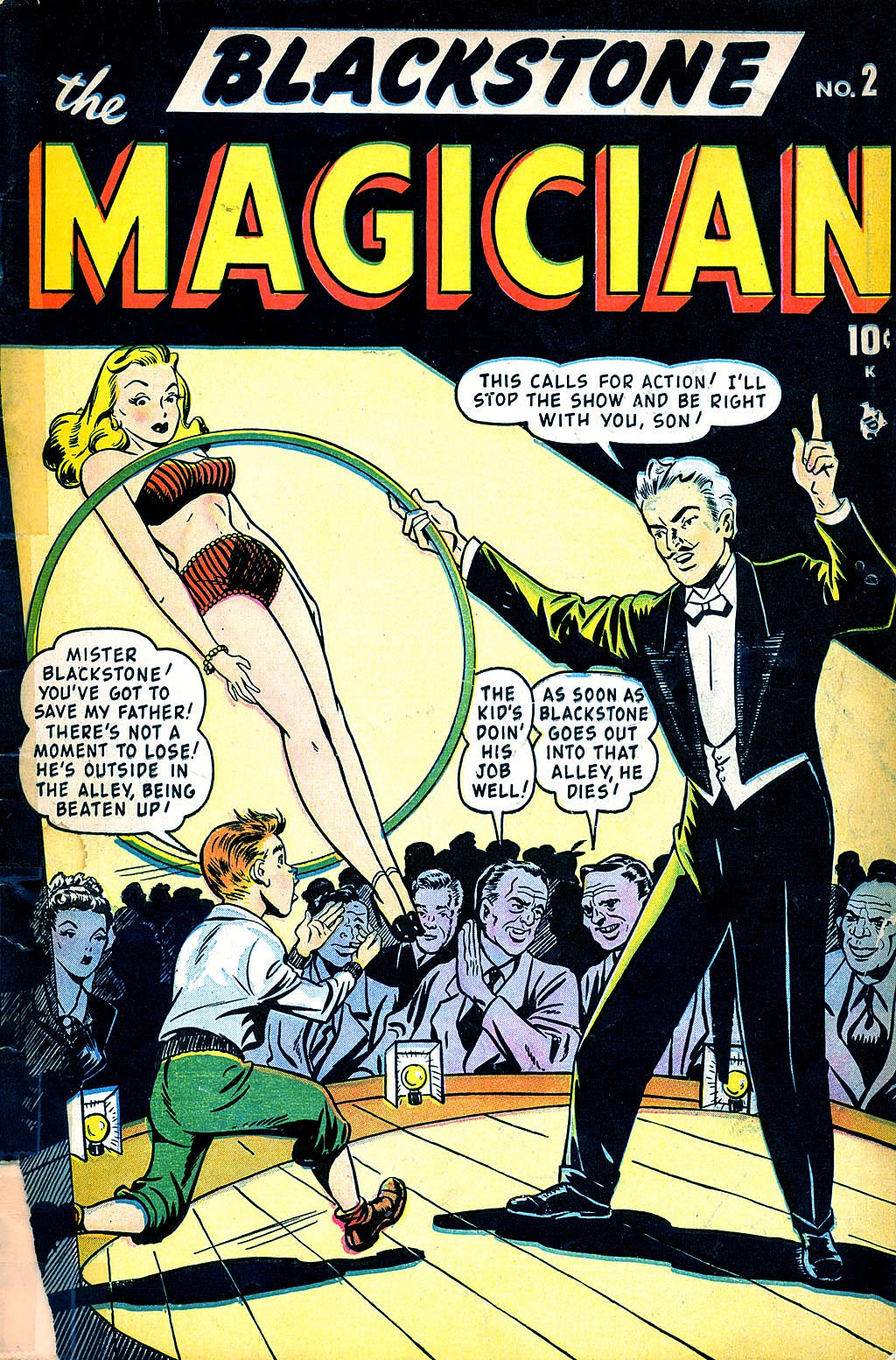 Read online Blackstone the Magician comic -  Issue #2 - 1