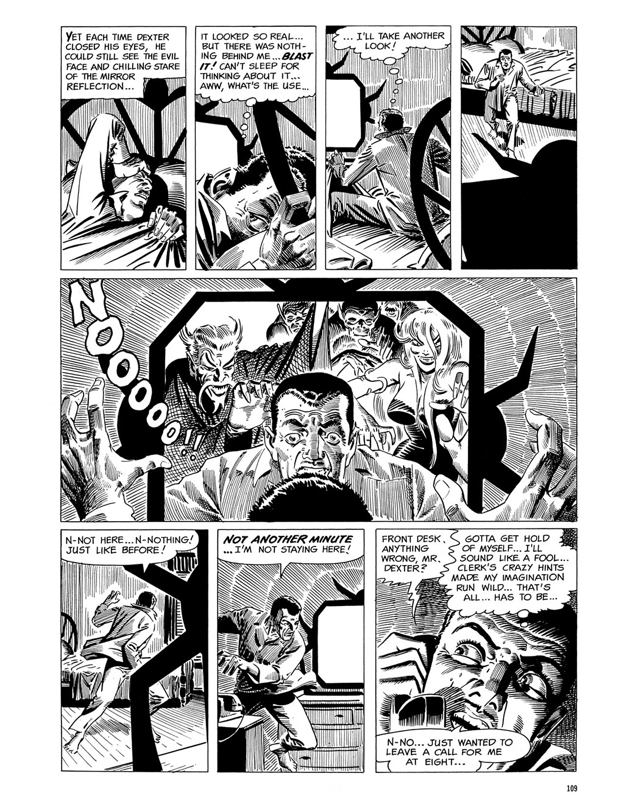 Read online Eerie Archives comic -  Issue # TPB 1 - 110